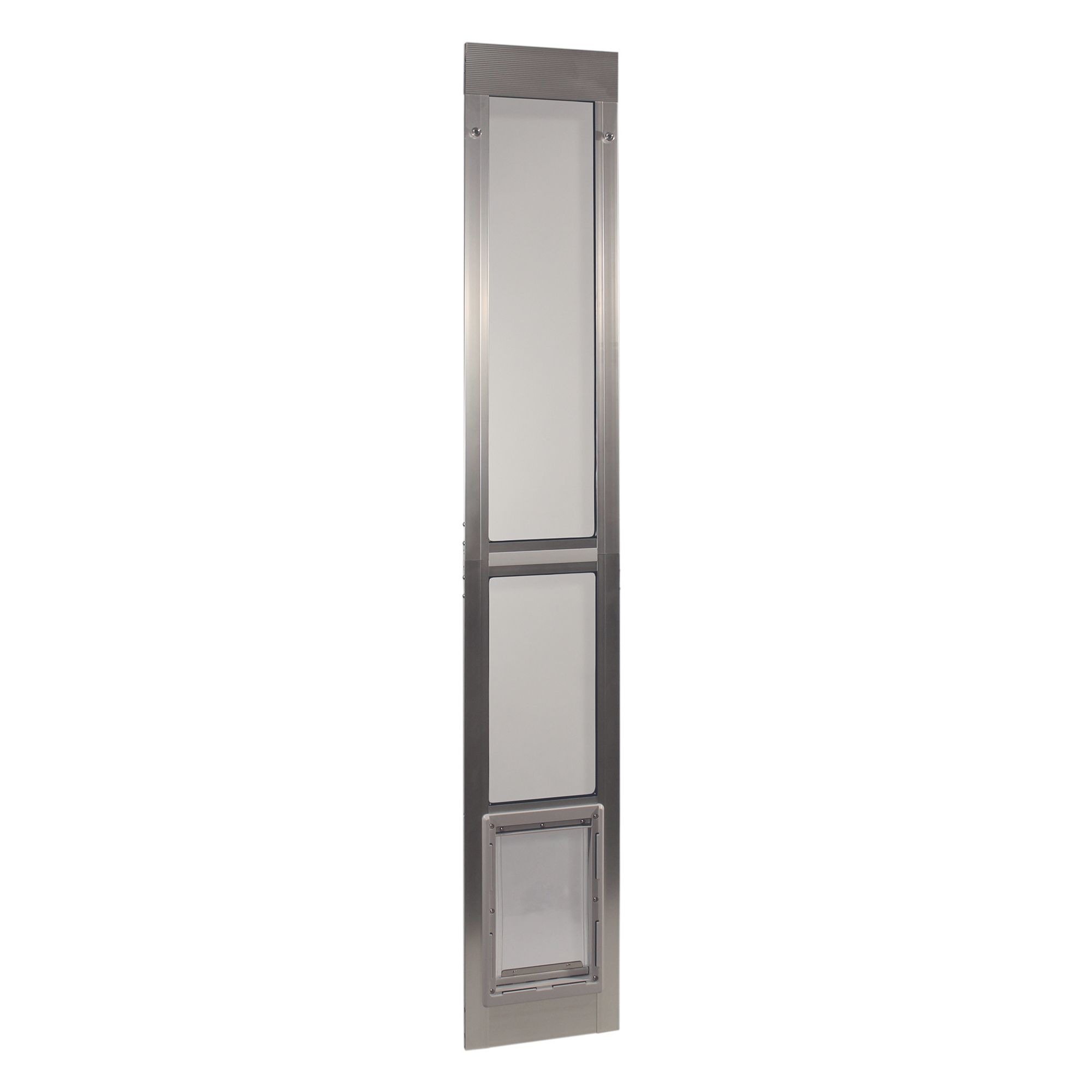 Ideal Pet Products Modular Patio Pet Door Size Medium White