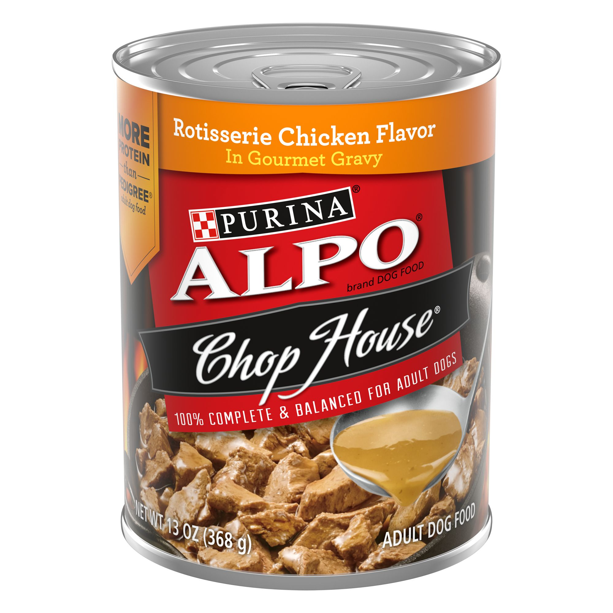 Purina® Alpo® Chophouse Originals Adult Dog Food size: 13.2 Oz 5142067