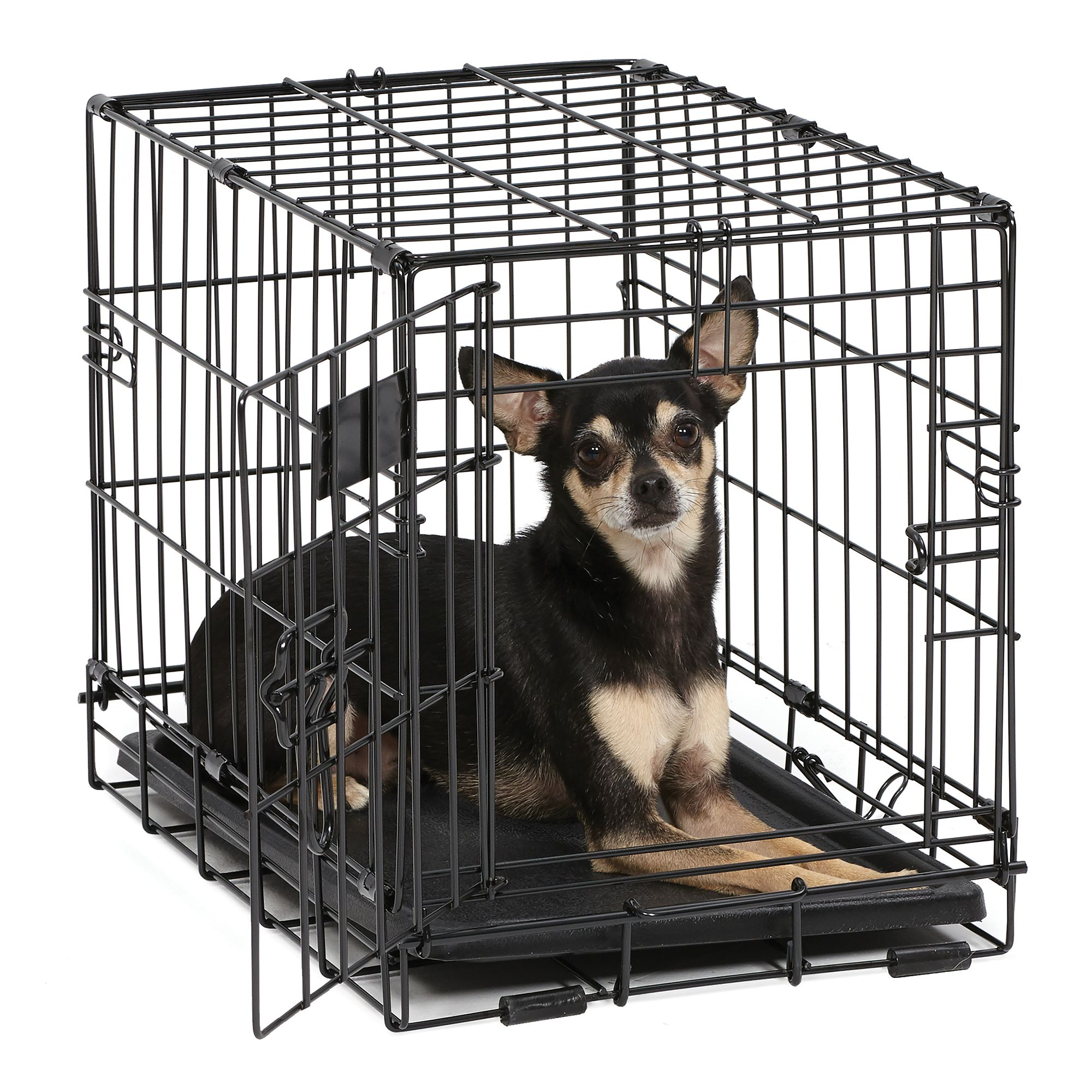 "Midwest iCrate Dog Crate size: 18""L x 12""W x 14""H, Black 5142220"