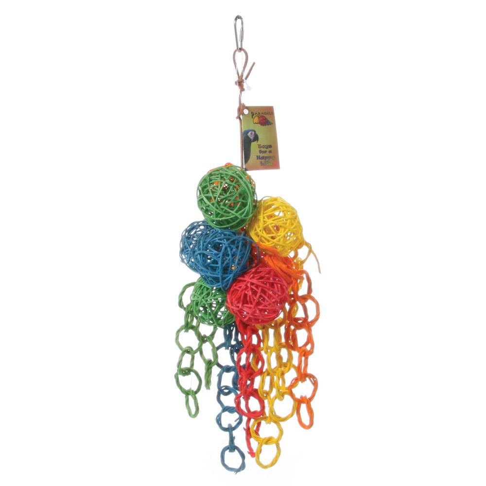 All Living Things Vibrant Cluster Bird Toy