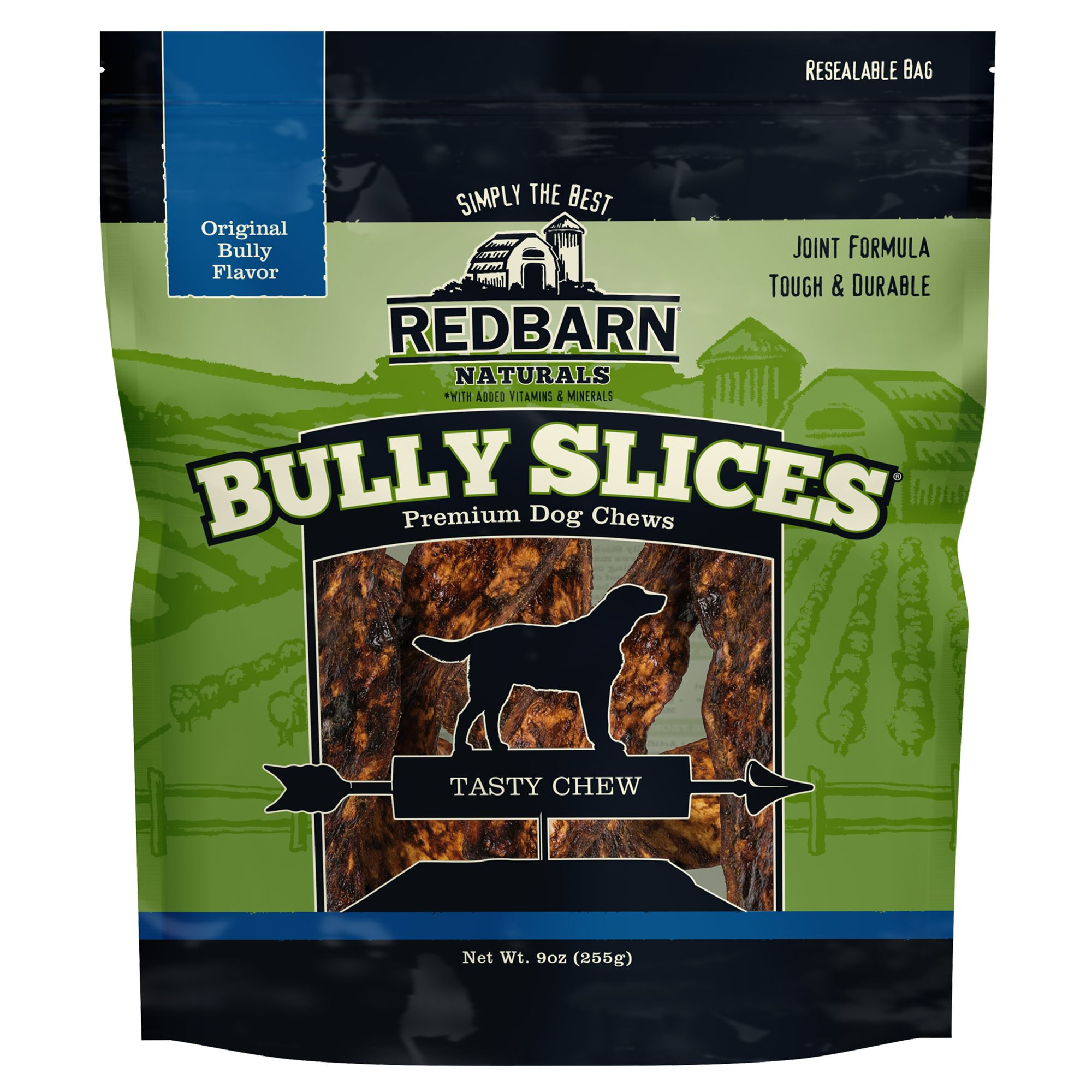 Red Barn Naturals Bully Slices Dog Treat Size 9 Oz Redbarn