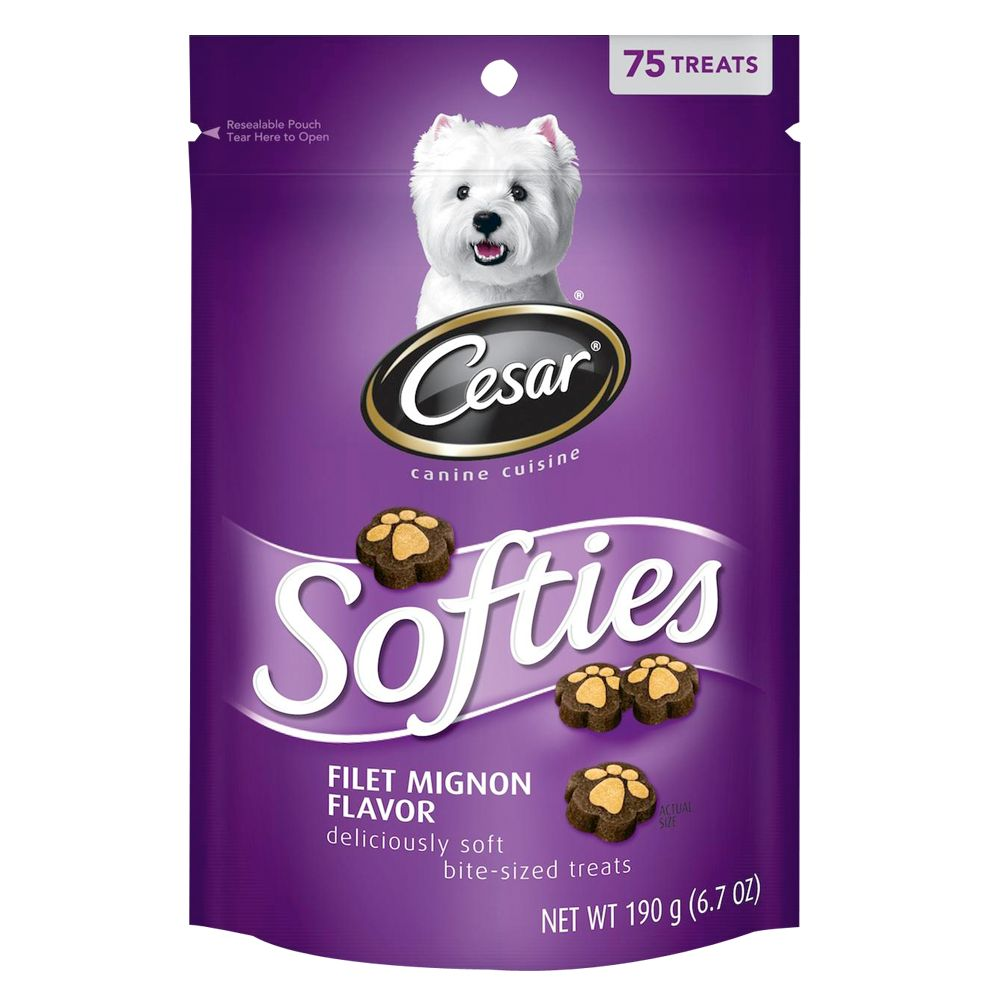 Cesar Softies Dog Treat Size 75 Count