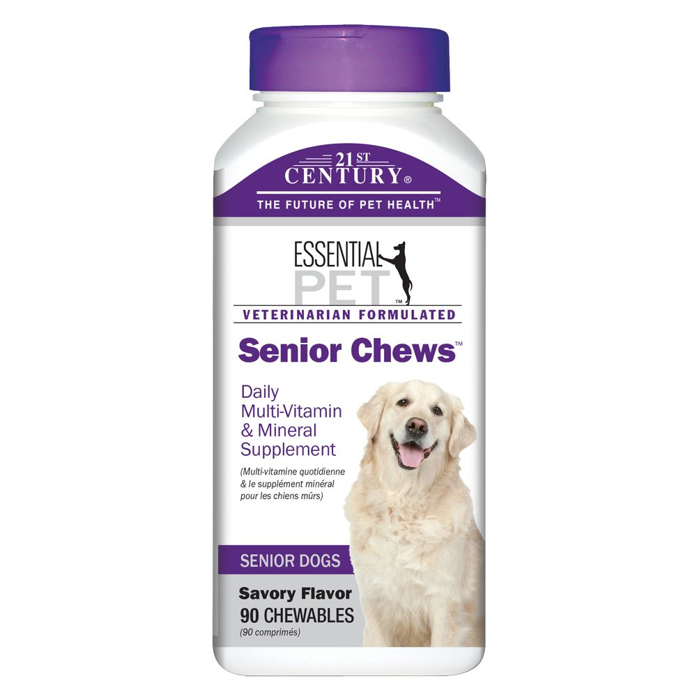 21st Century Senior Chews Dog Supplement Size 90 Count