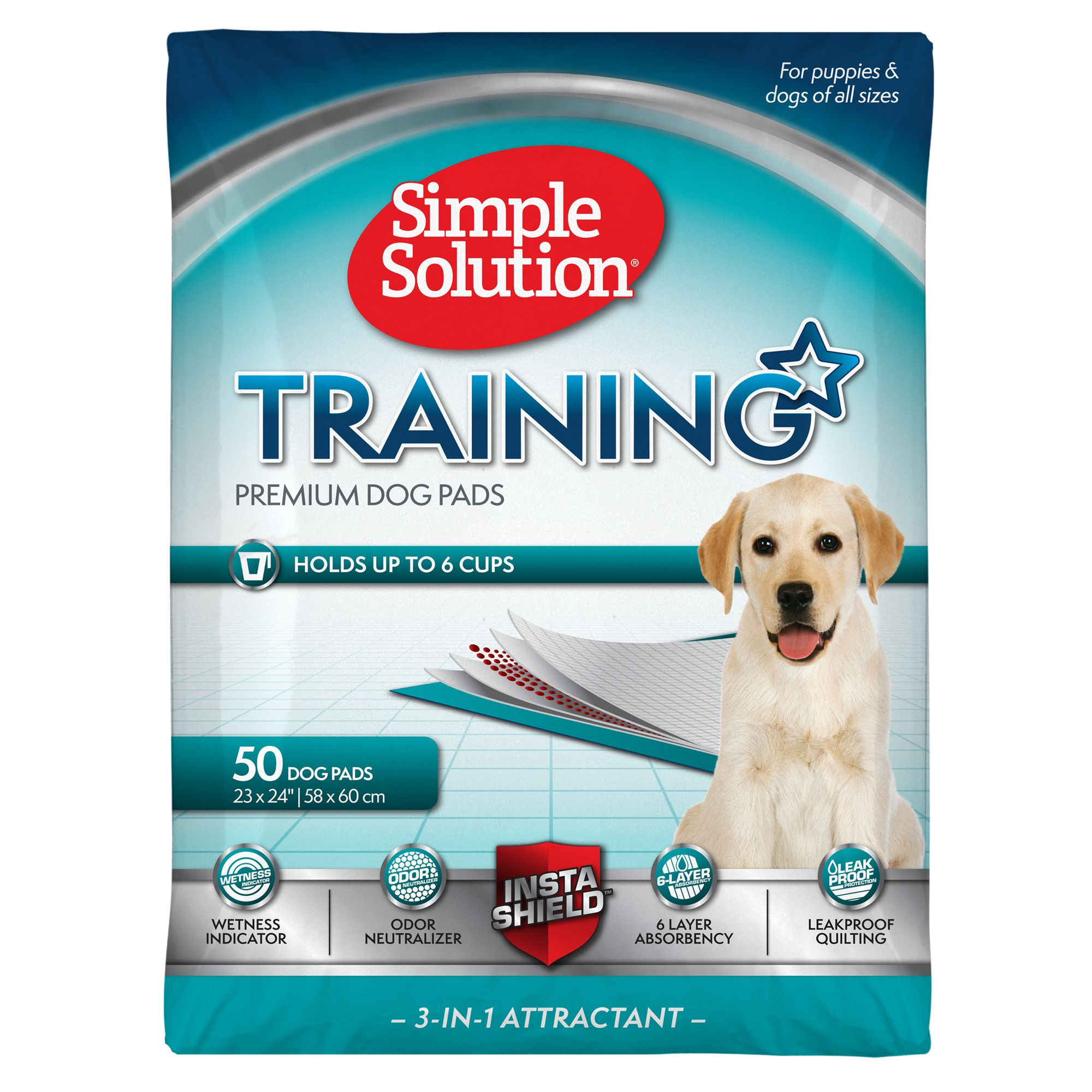 Simple Solution Training Dog Pads size: 50 Count 5147156