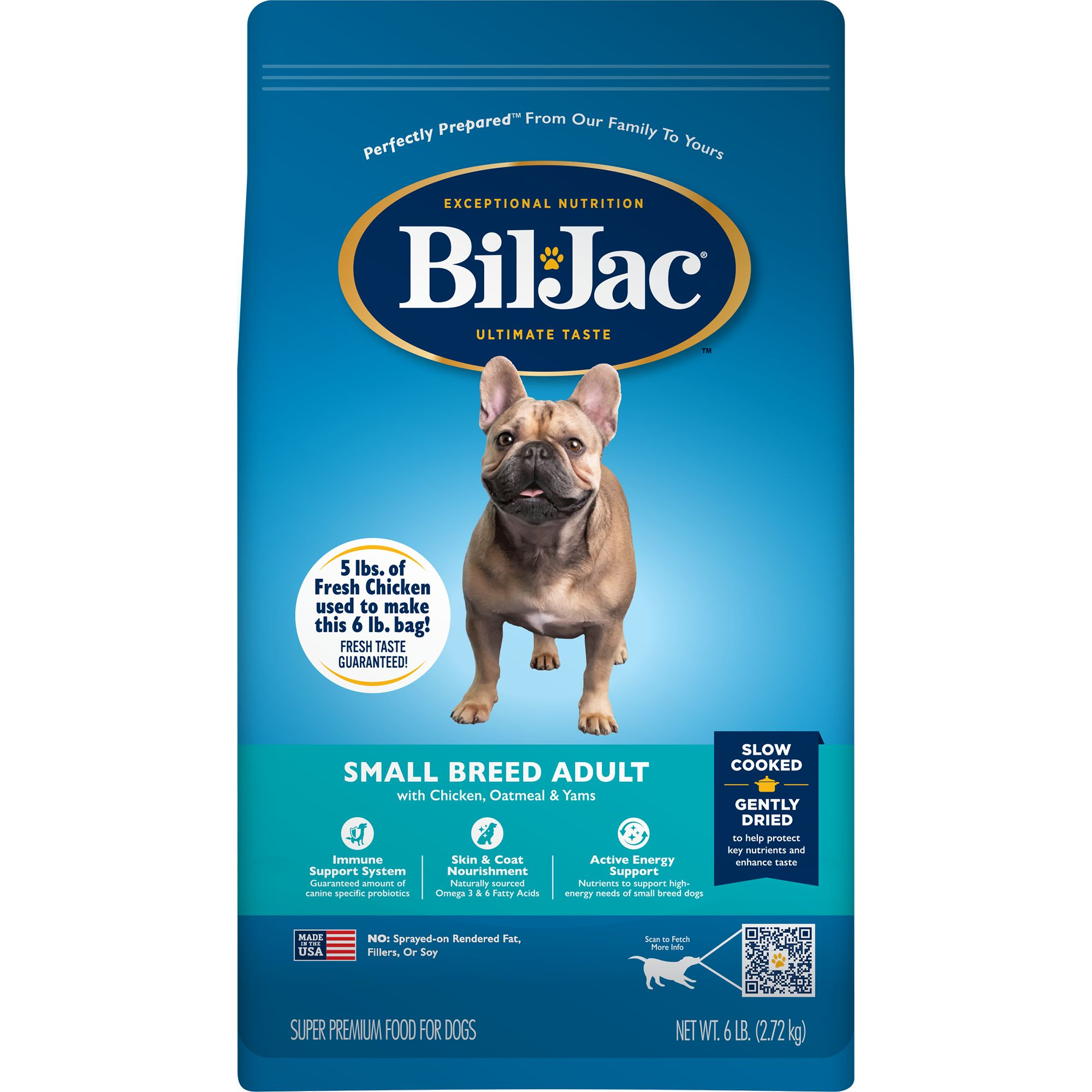 731794002627 upc bil jac small breed adult dog food 6 for Food barcode