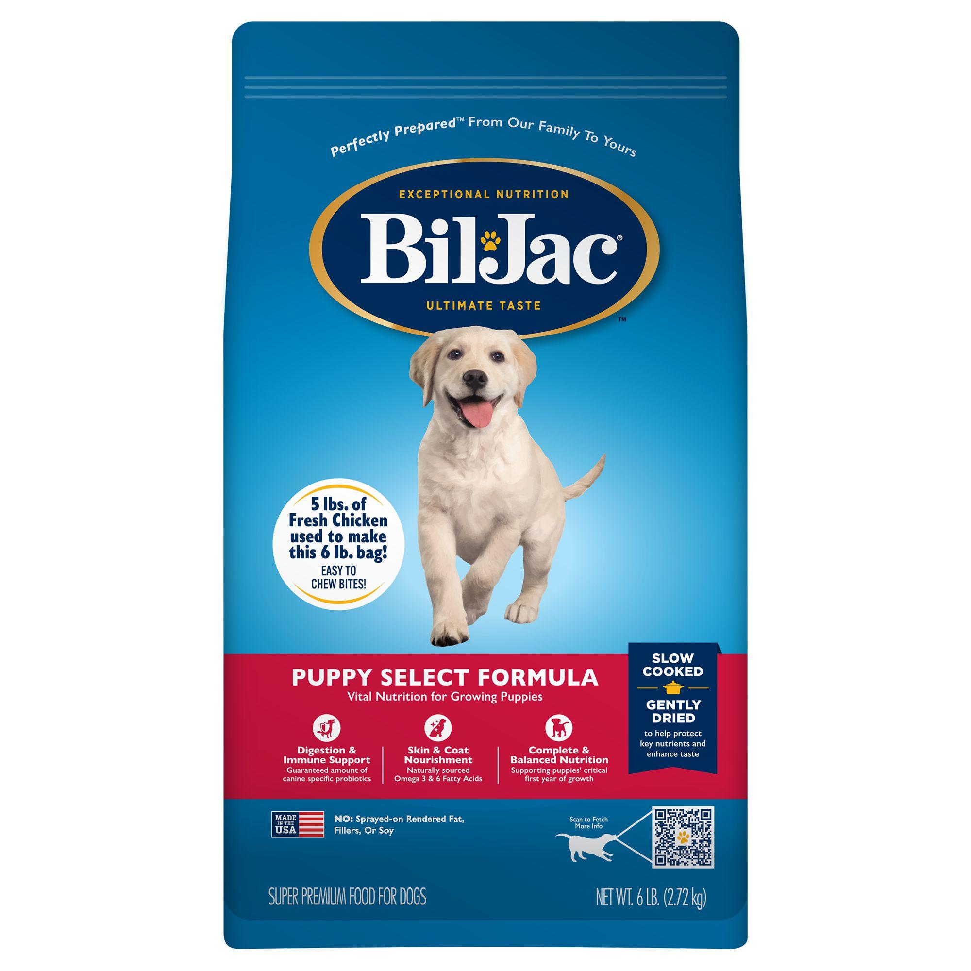 Bil-Jac Puppy Select Formula Puppy Food size: 6 Lb, Kibble, Chicken 5147439