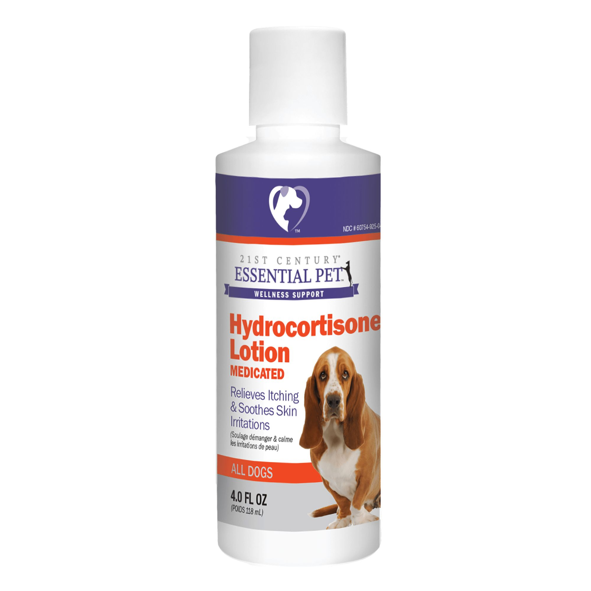 21st Century Hydrocortisone Dog Lotion Size 4 Oz