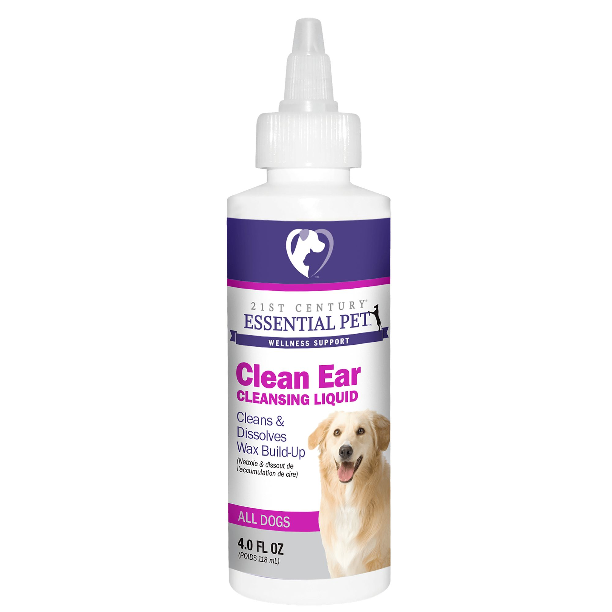21st Century Clean Ear Dog Liquid Size 4 Fl Oz