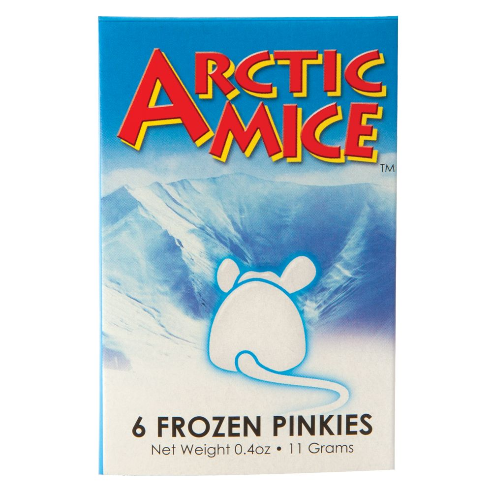 Arctic Mice Frozen Pinkie Size 6 Count