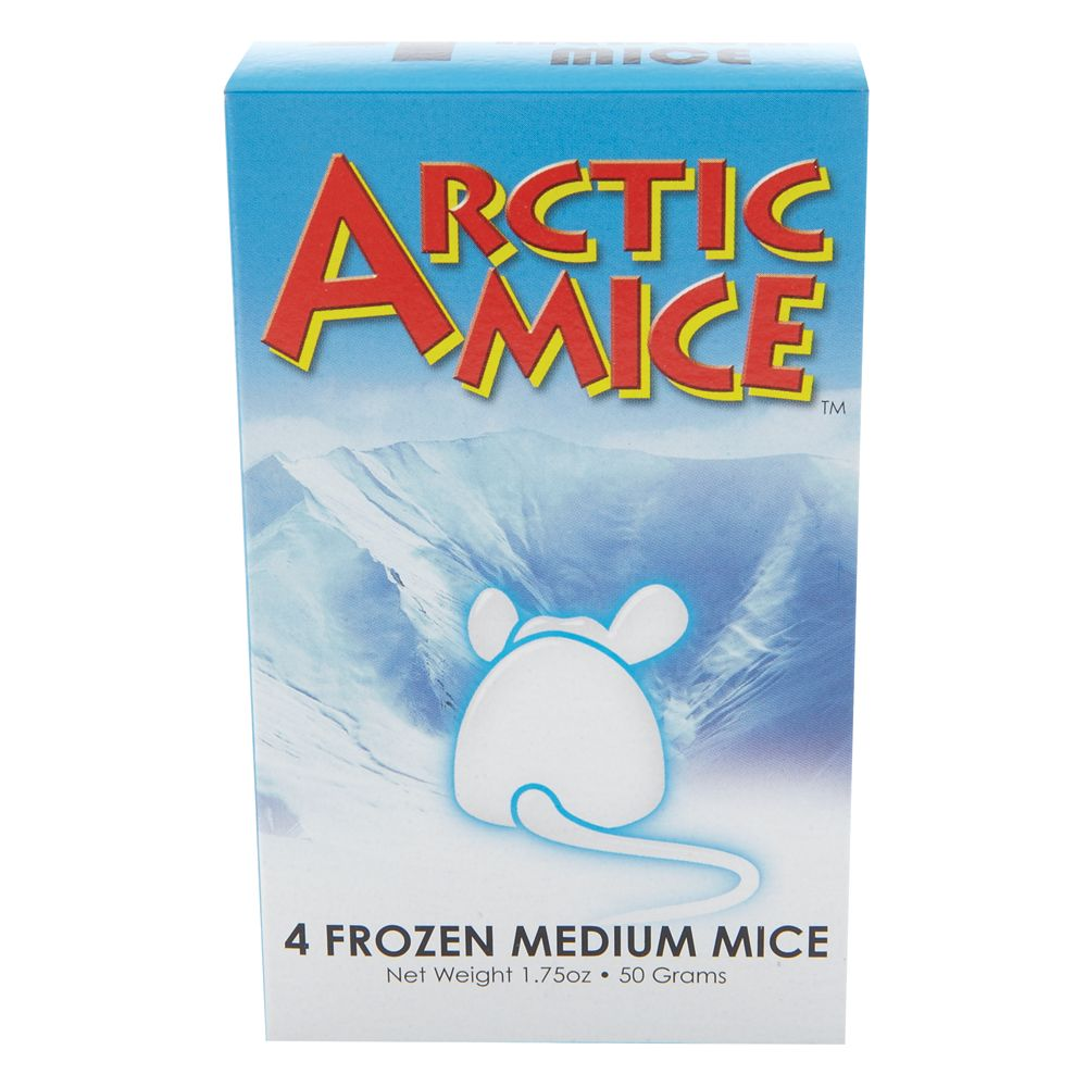 Arctic Mice Frozen Mice Size 4 Count