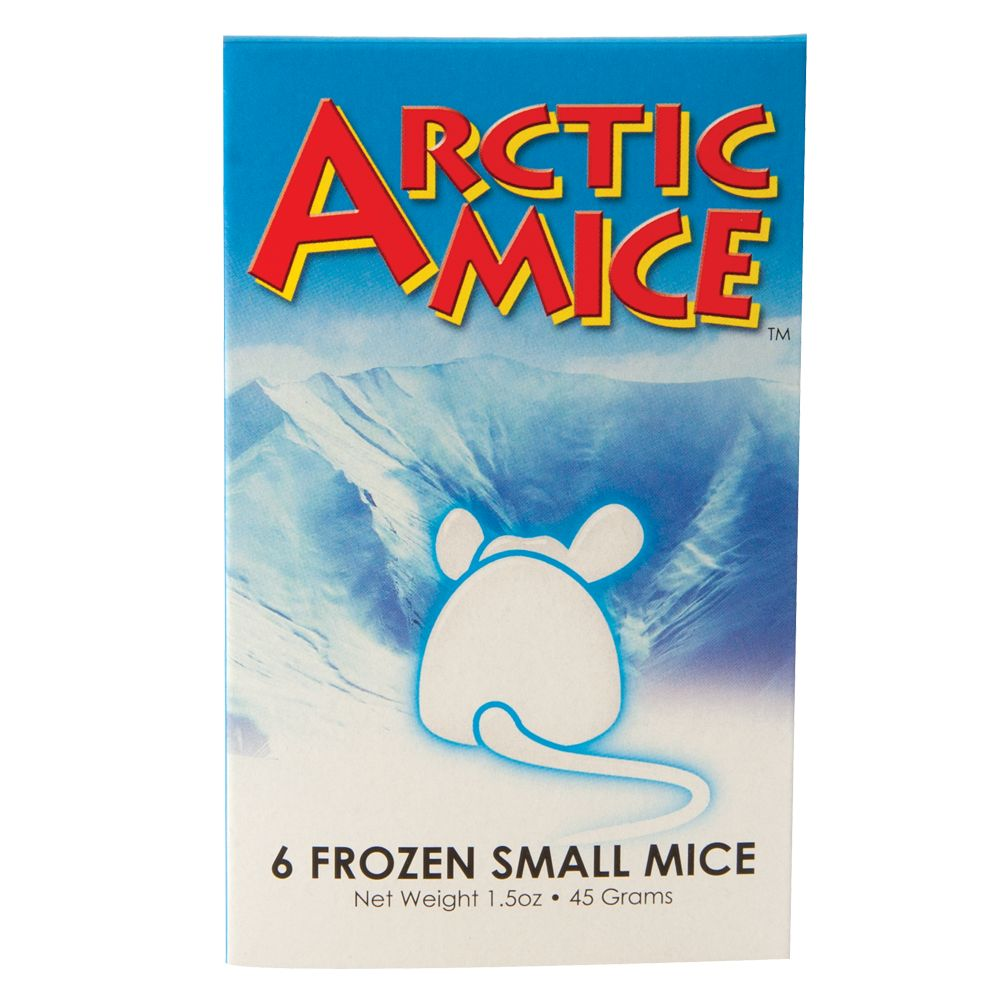 Arctic Mice Frozen Mice Size 6 Count