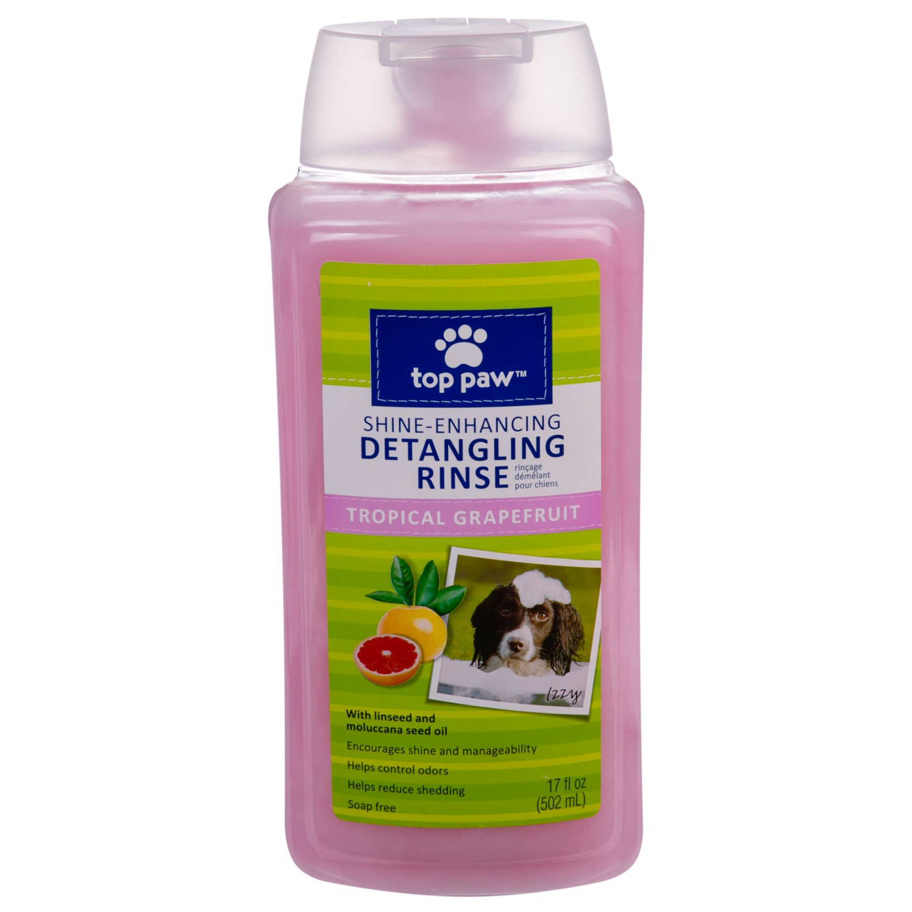 Top Paw, Tropical Grapefruit Detangling Dog Rinse