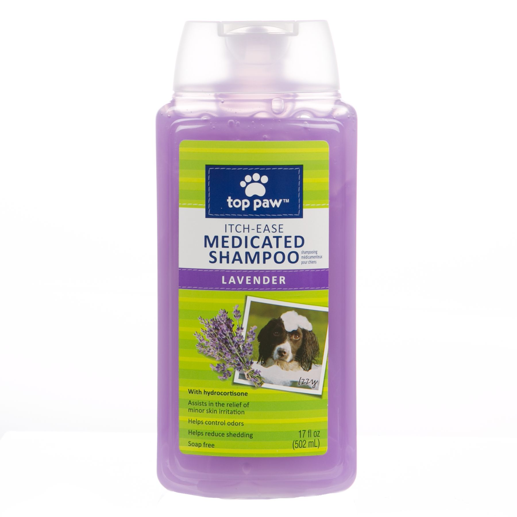 Top Pawreg Itch Ease Medicated Dog Shampoo