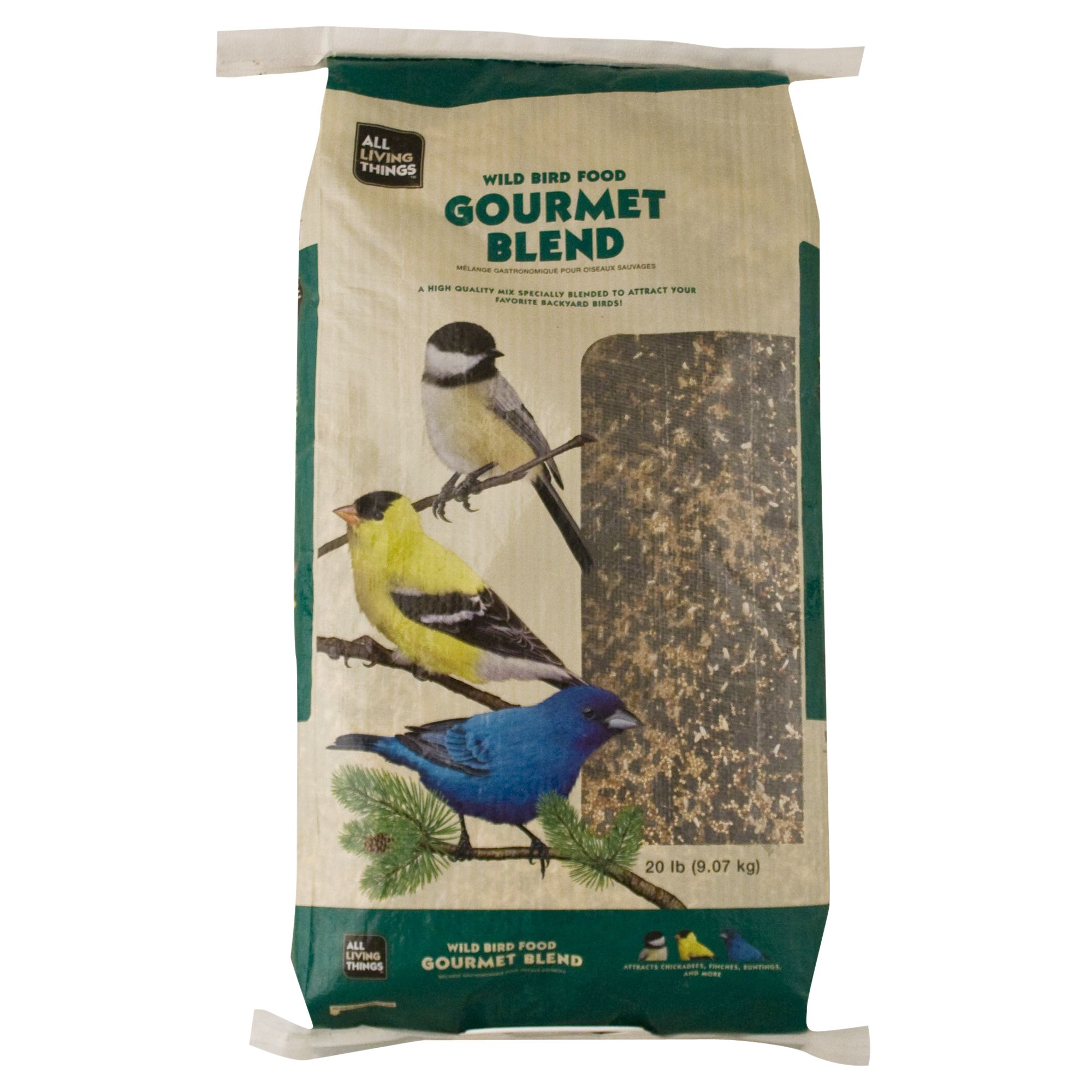 All Living Things Gourmet Blend Wild Bird Food size: 20 Lb 5149373
