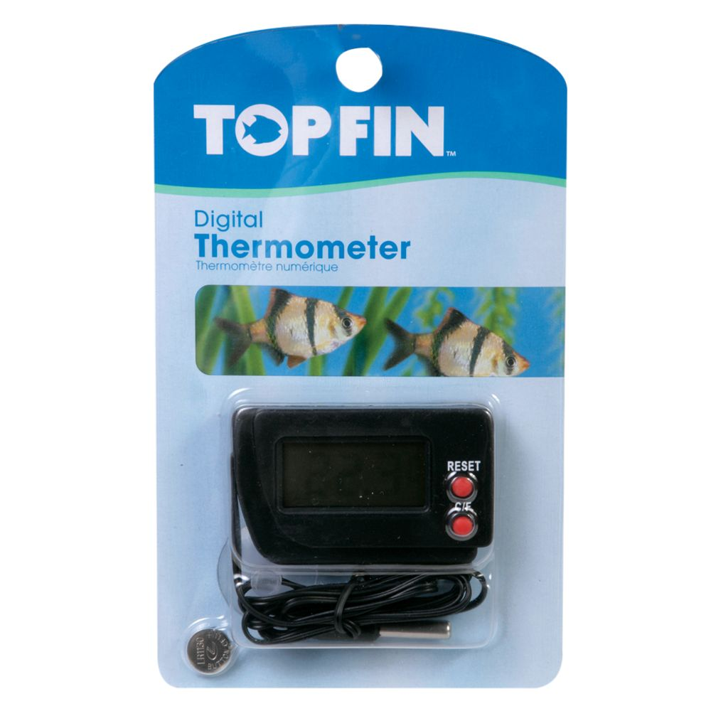 Adhesive aquarium thermometer find it at shopwiki for Aquarium thermometer