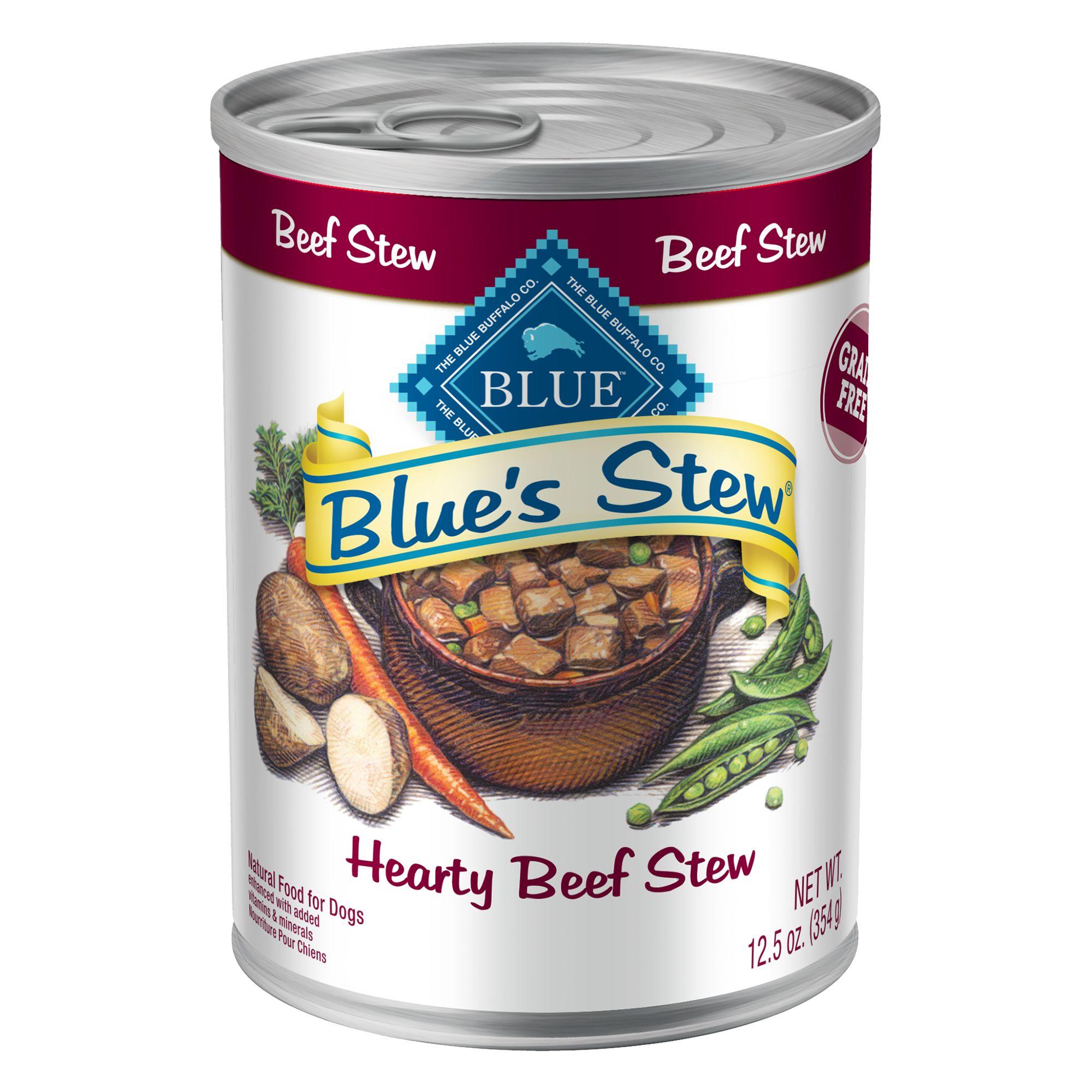 Blue Beef Stew Dog Food