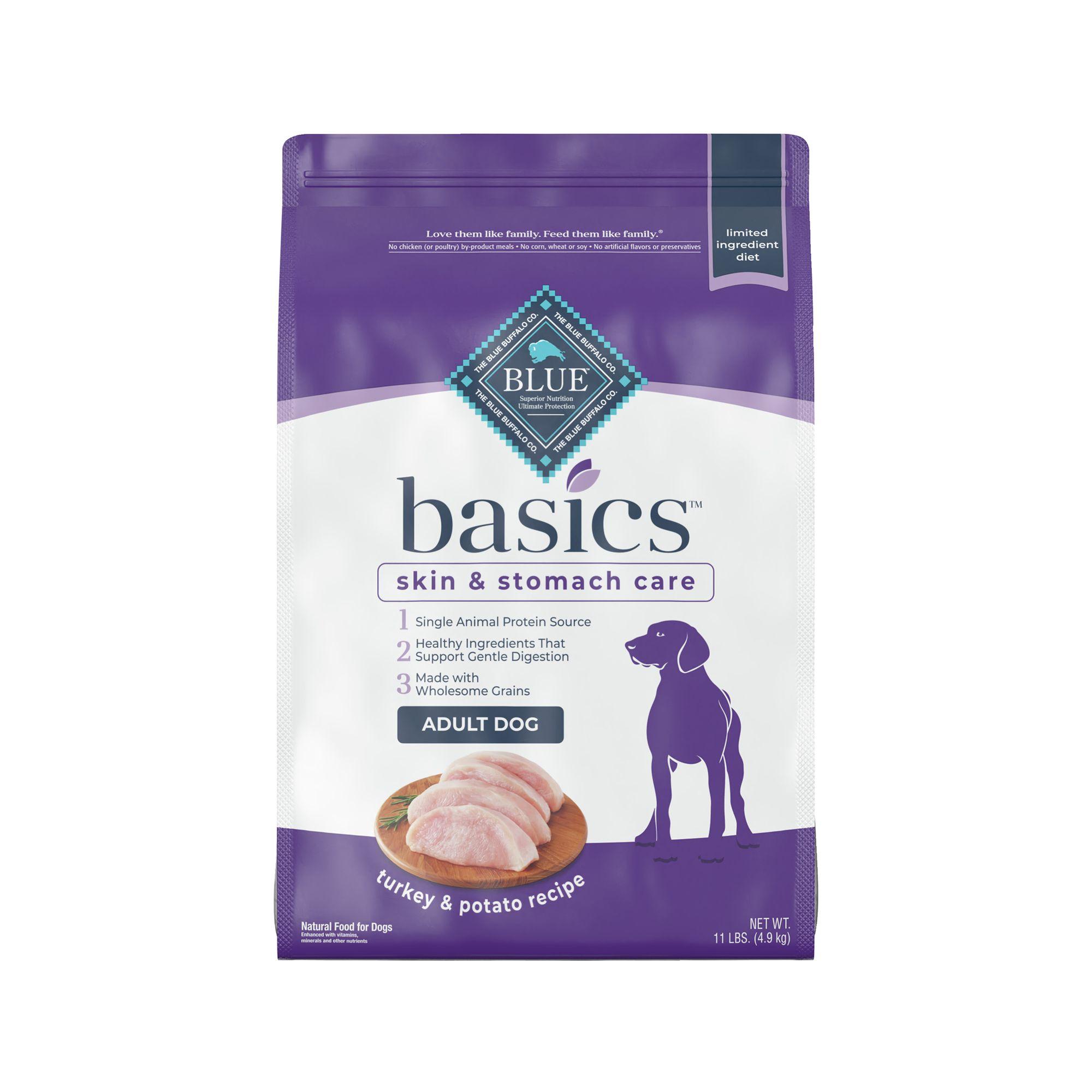 Blue Basics Limited Ingredient Adult Dog Food Size 11 Lb Blue Buffalo