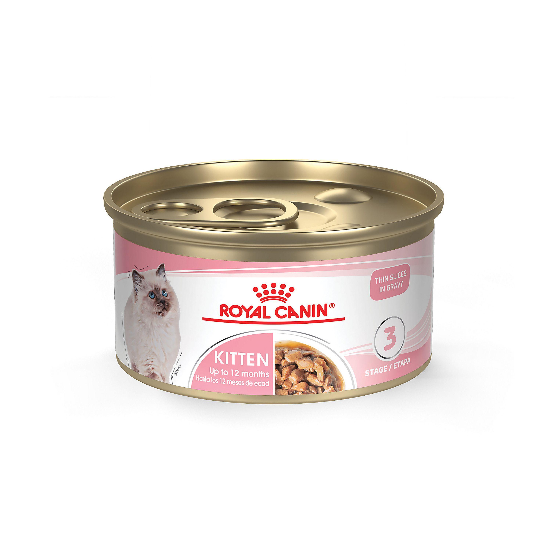 Splendid Canin Feline Health Nutrition, Kitten Instinctive Cat Food size: 3 Oz, Kitten 0-12mos, Water