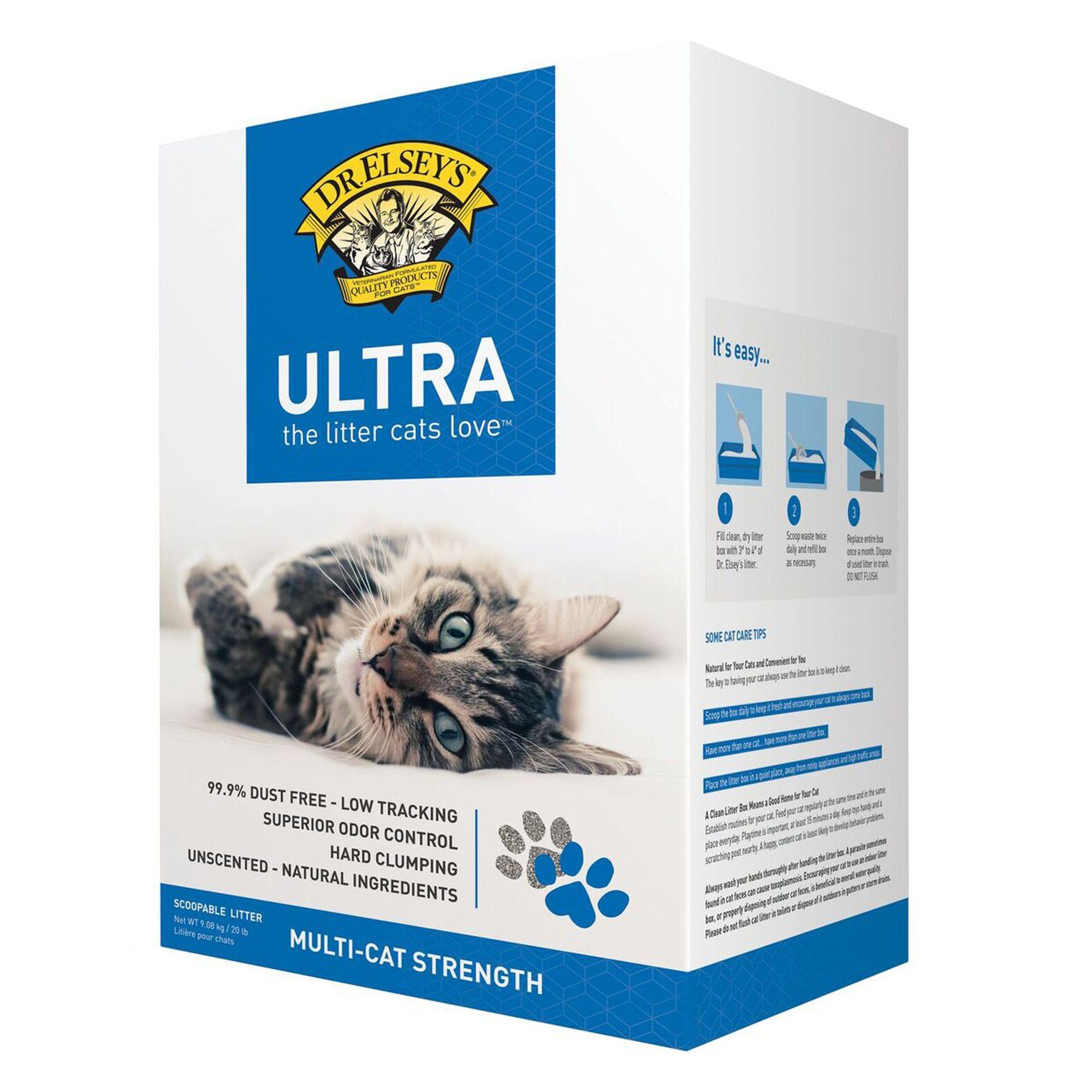 Precious Cat Ultra Multicat Scoopable Litter Size 20 Lb