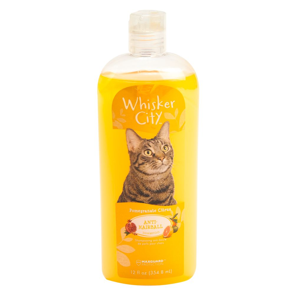 Whisker City Anti Hairball Cat Shampoo Size 12 Fl Oz