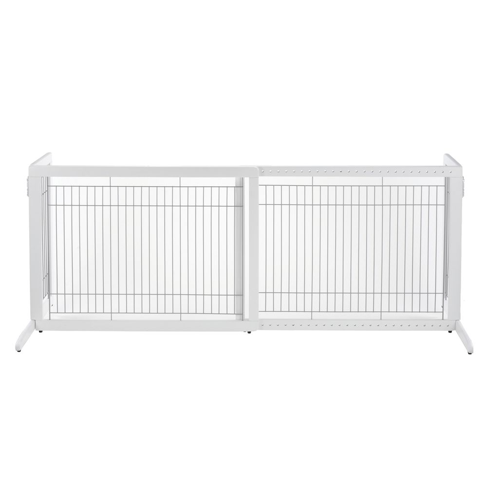 Richell Freestanding Tall Pet Gate Size .4w X 27.6h White