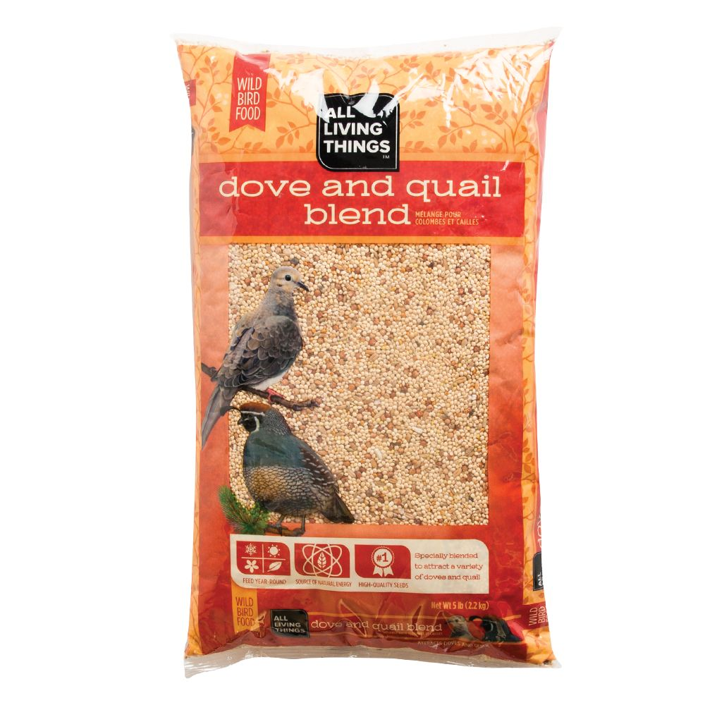 All Living Things Dove And Quail Blend Wild Bird Food Size 5 Lb