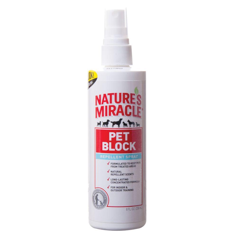 Nature's Miracle, Pet Block Repellent Pet Spray size: 8 Fl O