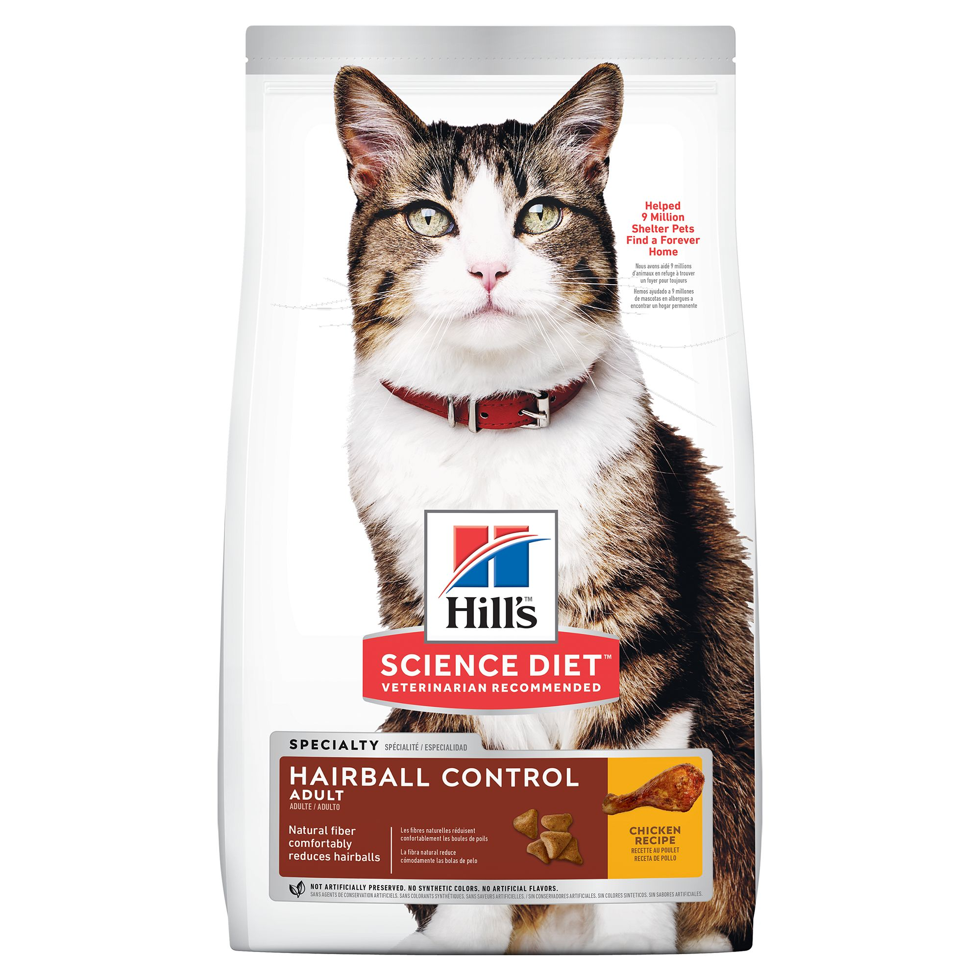 Hill's® Science Diet® Hairball Control Adult Cat Food - Chicken 5154825