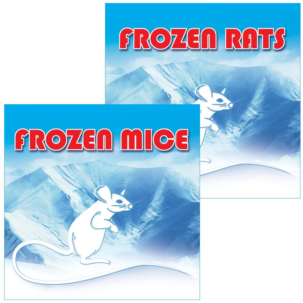 Arctic Mice Large Frozen Mice Size 25 Count