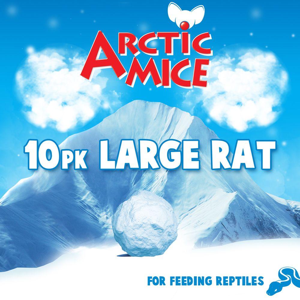Arctic Mice Large Frozen Rats Size 10 Count