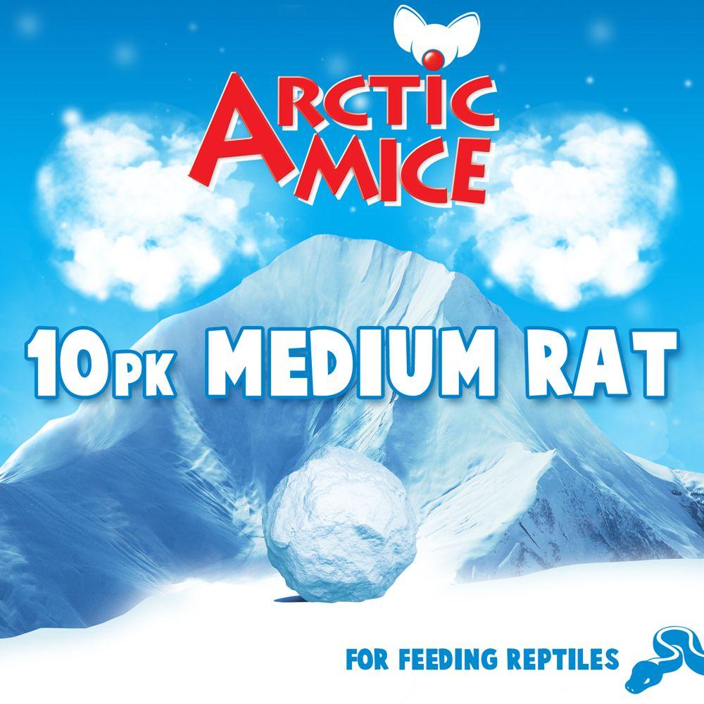 Arctic Mice Medium Frozen Rats Size 10 Count