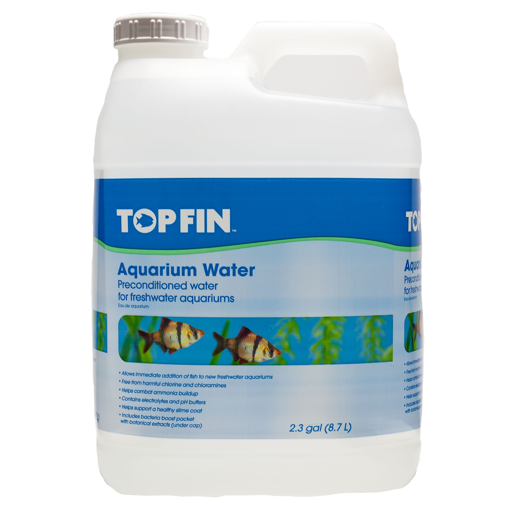 Top Fin Ready Water Preconditioned Aquarium Cycling Water Conditioner Size 2.3 Gal