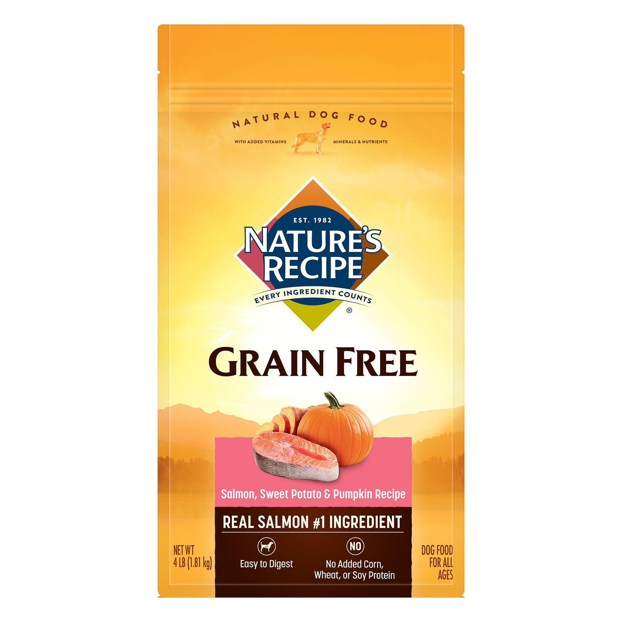 Natures Dog Food Salmon