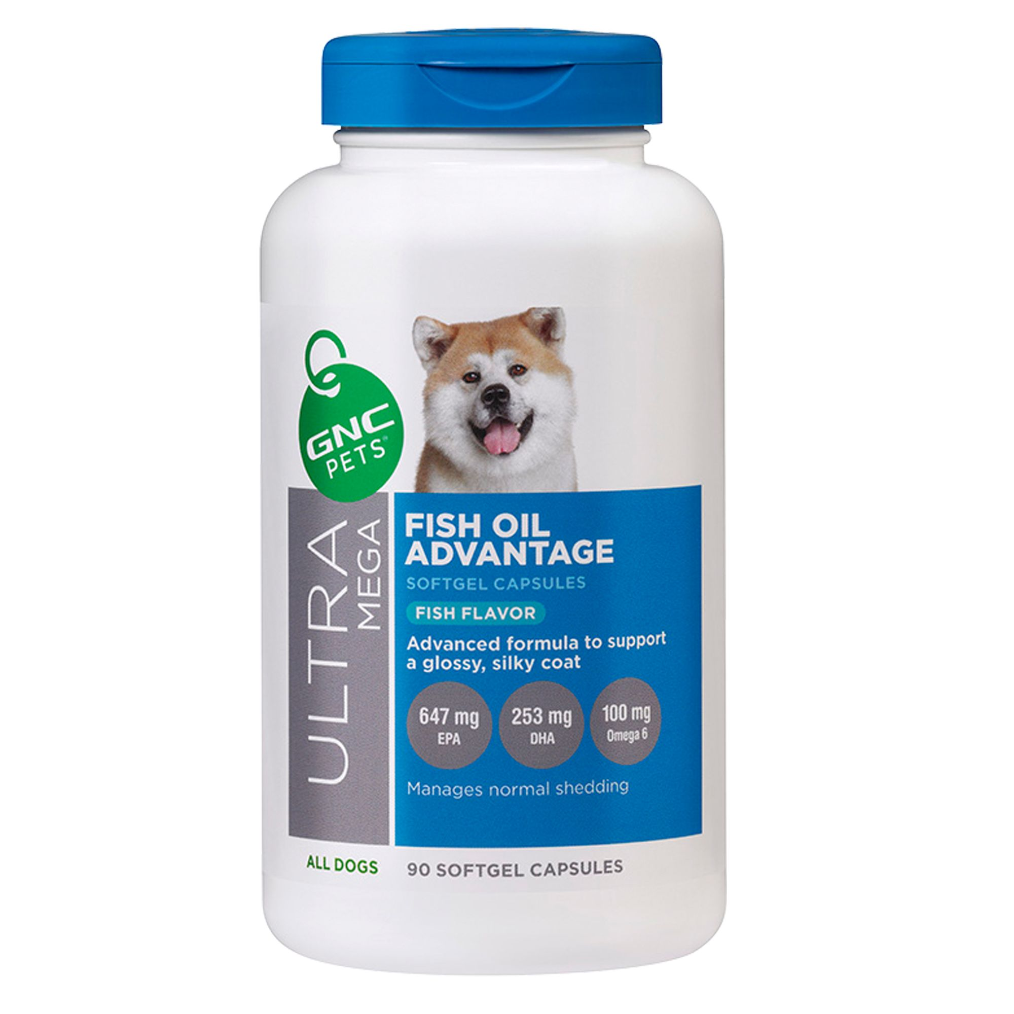 Gnc usa page 3 for Fish oil pills for dogs