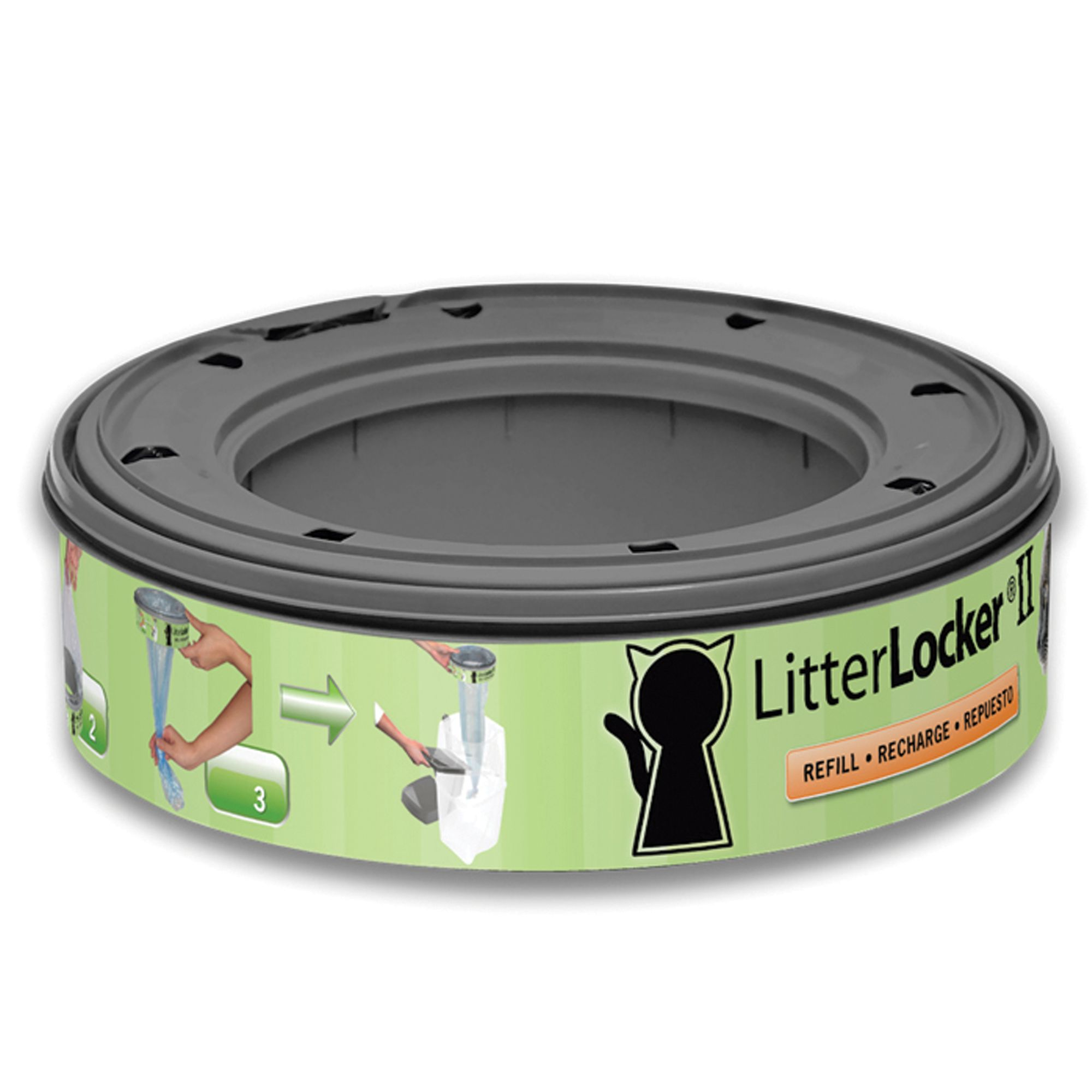 Litterlocker Ii Cat Litter Disposal System Refill Size 1 Count Litter Genie