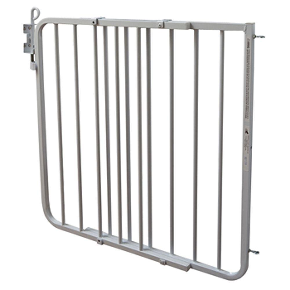 Cardinal Gates Auto Lock Pet Gate White