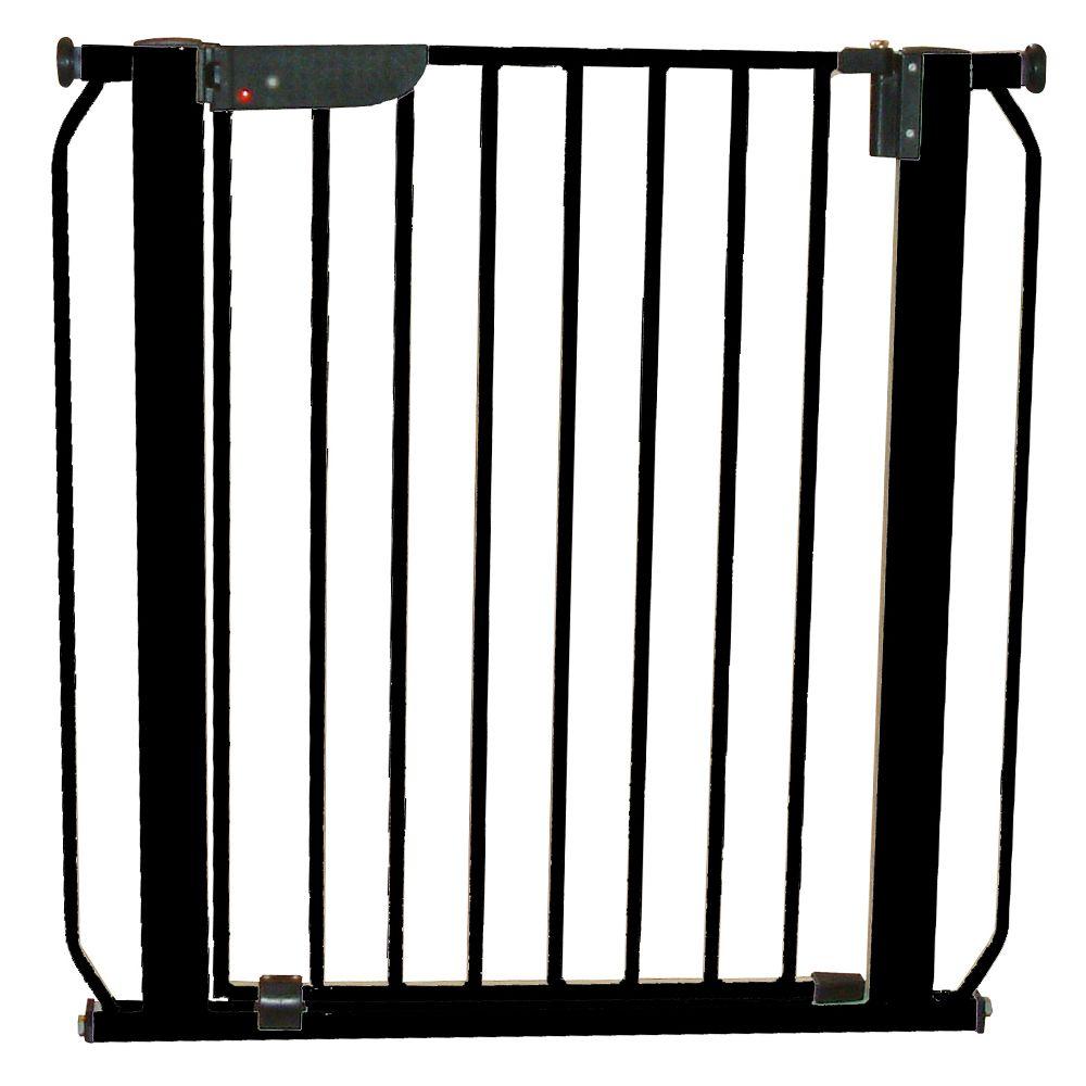 Cardinal Gates Auto Lock Pet Gate Size 29w X 29.75h Black