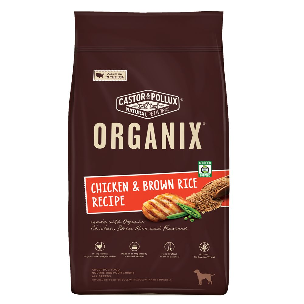 Organix® Adult Dog Food size: 5.25 Lb