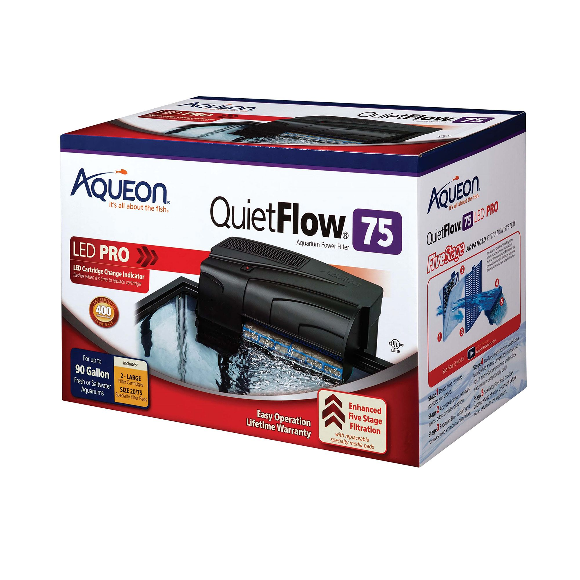 Aqueon filters usa for Fish tank filtration