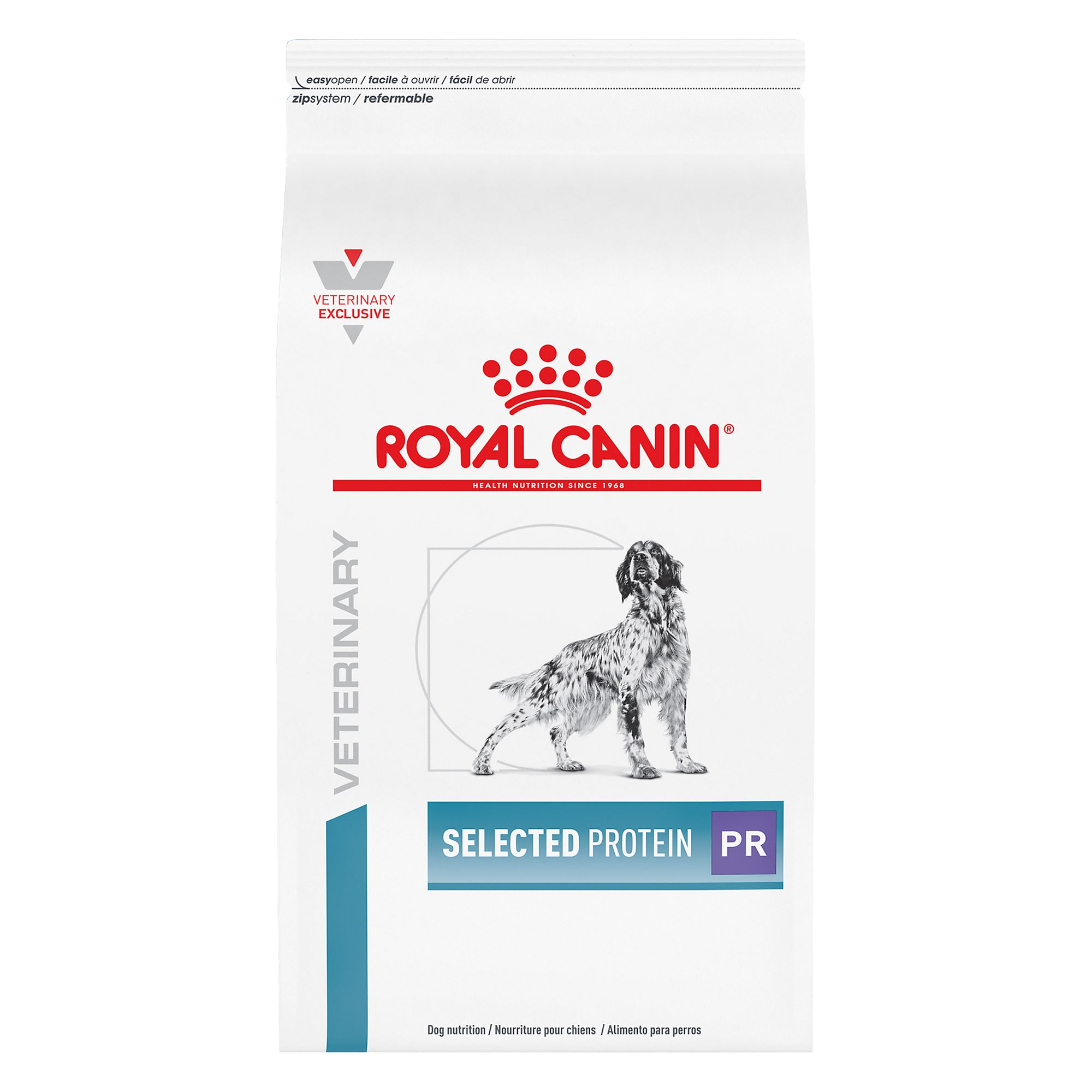 Royal Canin Veterinary Diet Hypoallergenic Selected Protein Adult Pr Dog Food Size 17.6 Lb