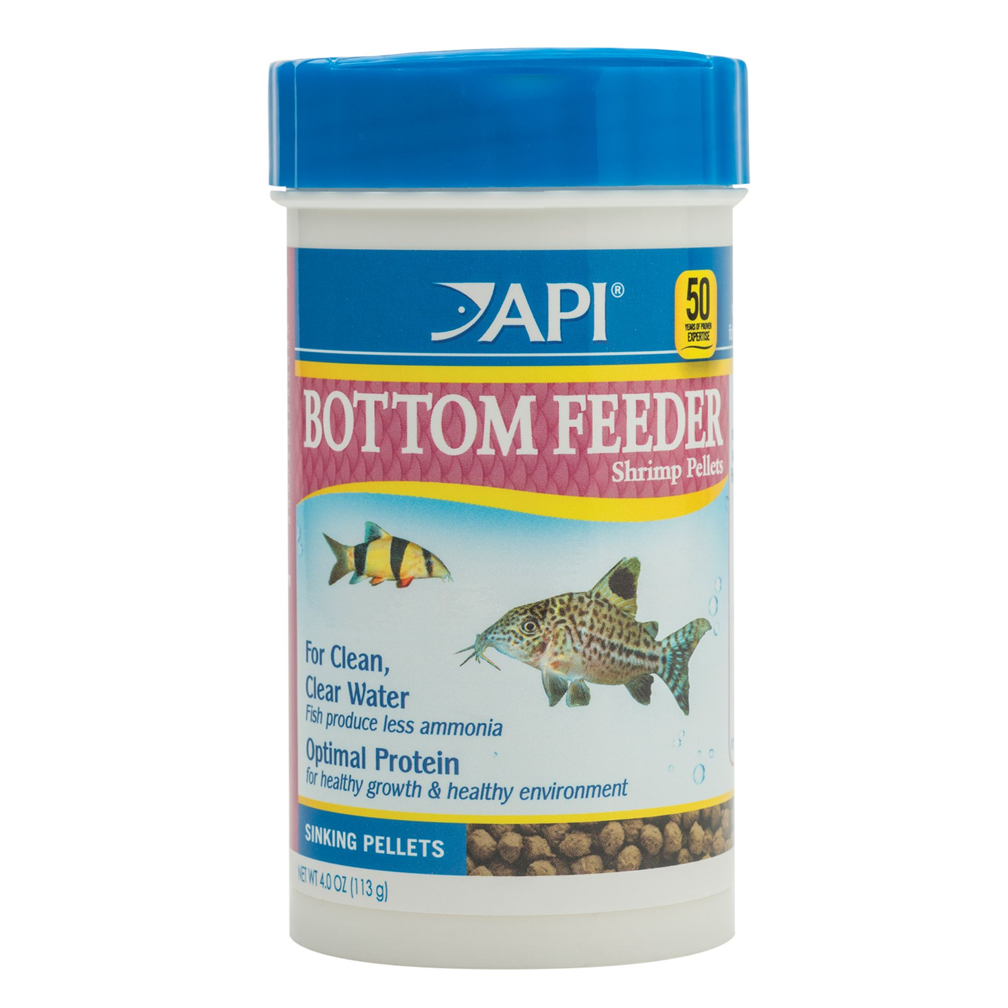 Api Bottom Feeder Premium Shrimp Pellets Fish Food