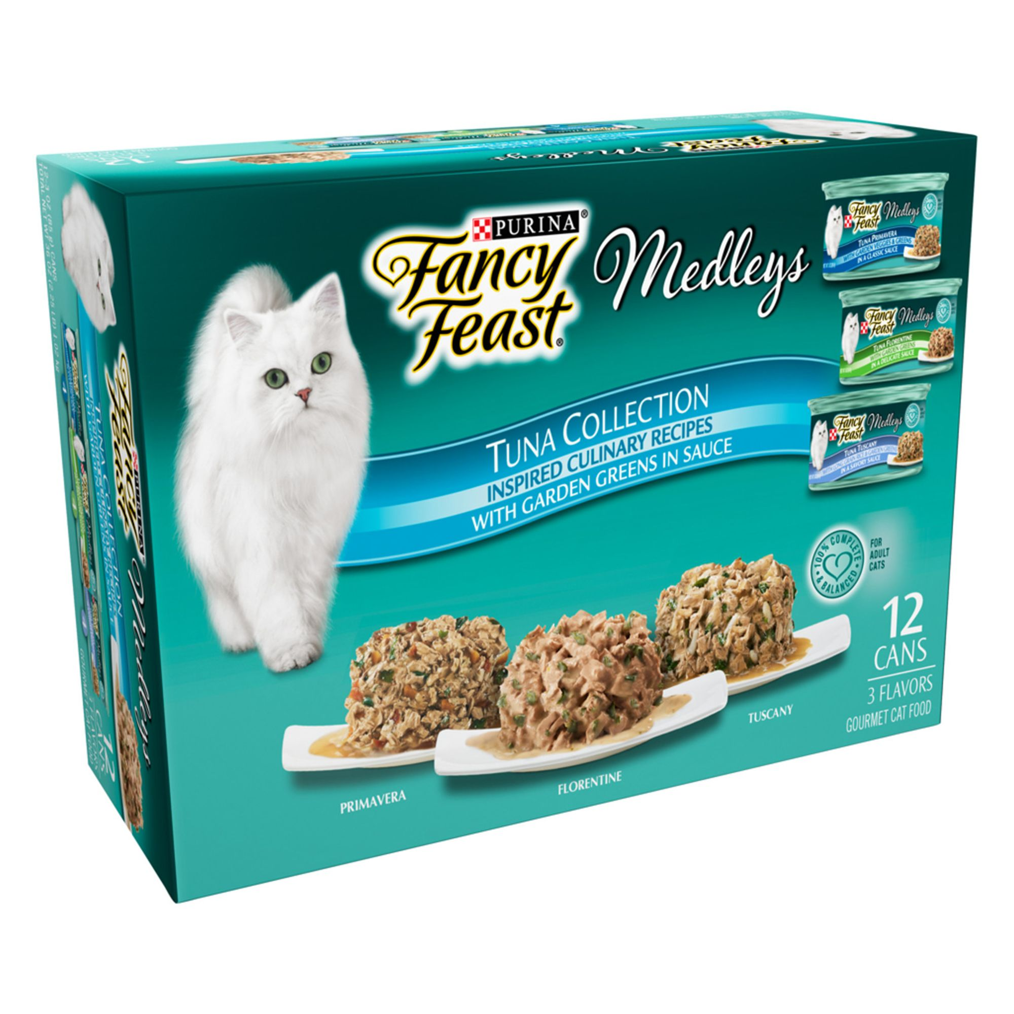 Fancy Feast Medleys Adult Cat Food Variety Pack 12 Ct Size 3 Oz