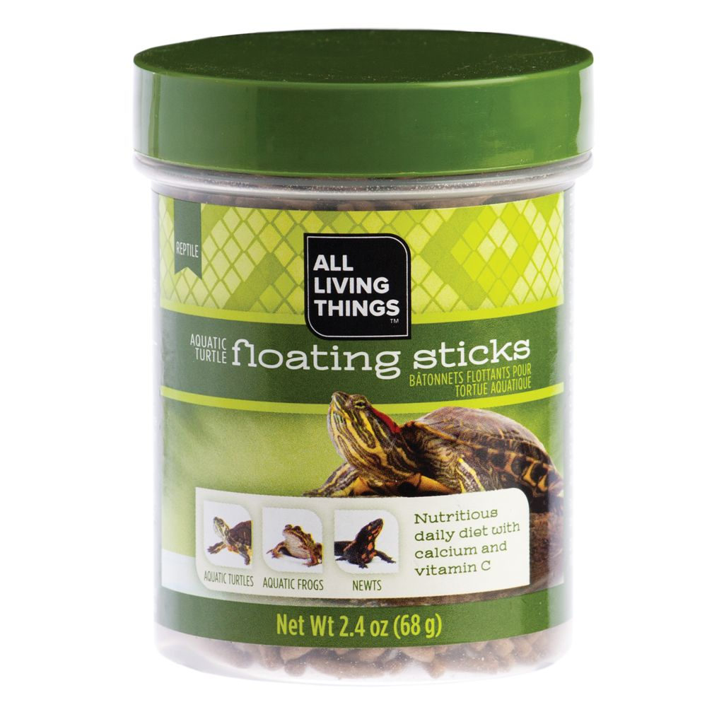 All Living Things Aquatic Turtle Floating Sticks Size 2.4 Oz