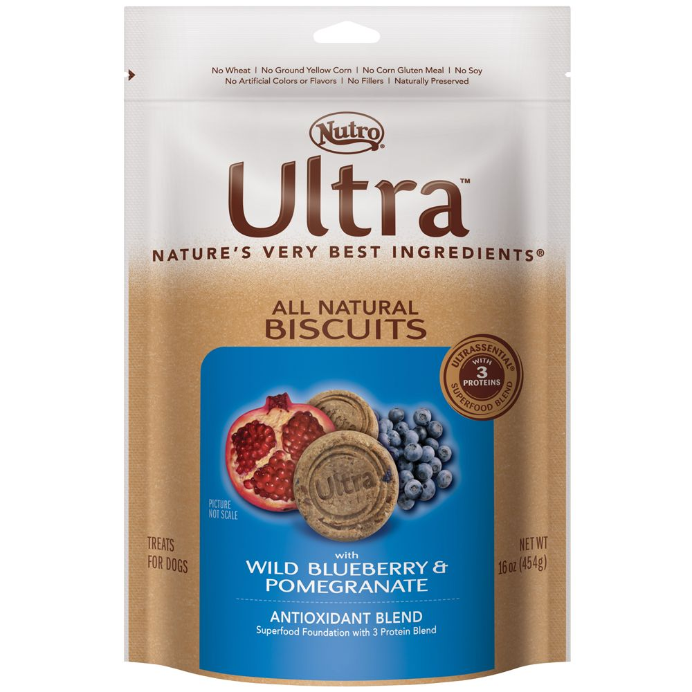 Nutro Ultra All Natural Dog Biscuit Size 16 Oz