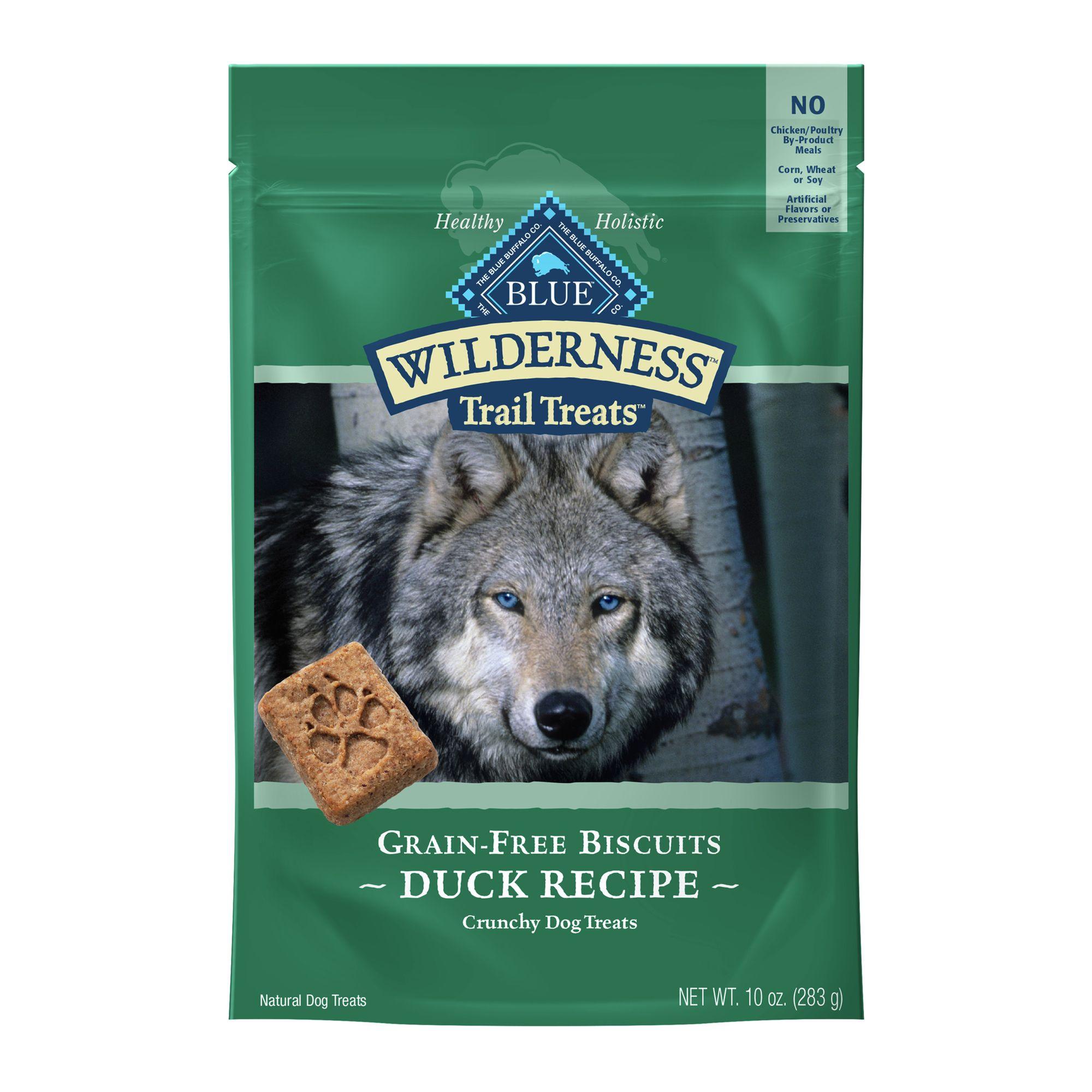 Blue Wilderness Trail Treats Grain Free Dog Treat size: 10 Oz, Blue Buffalo, Duck, Adult