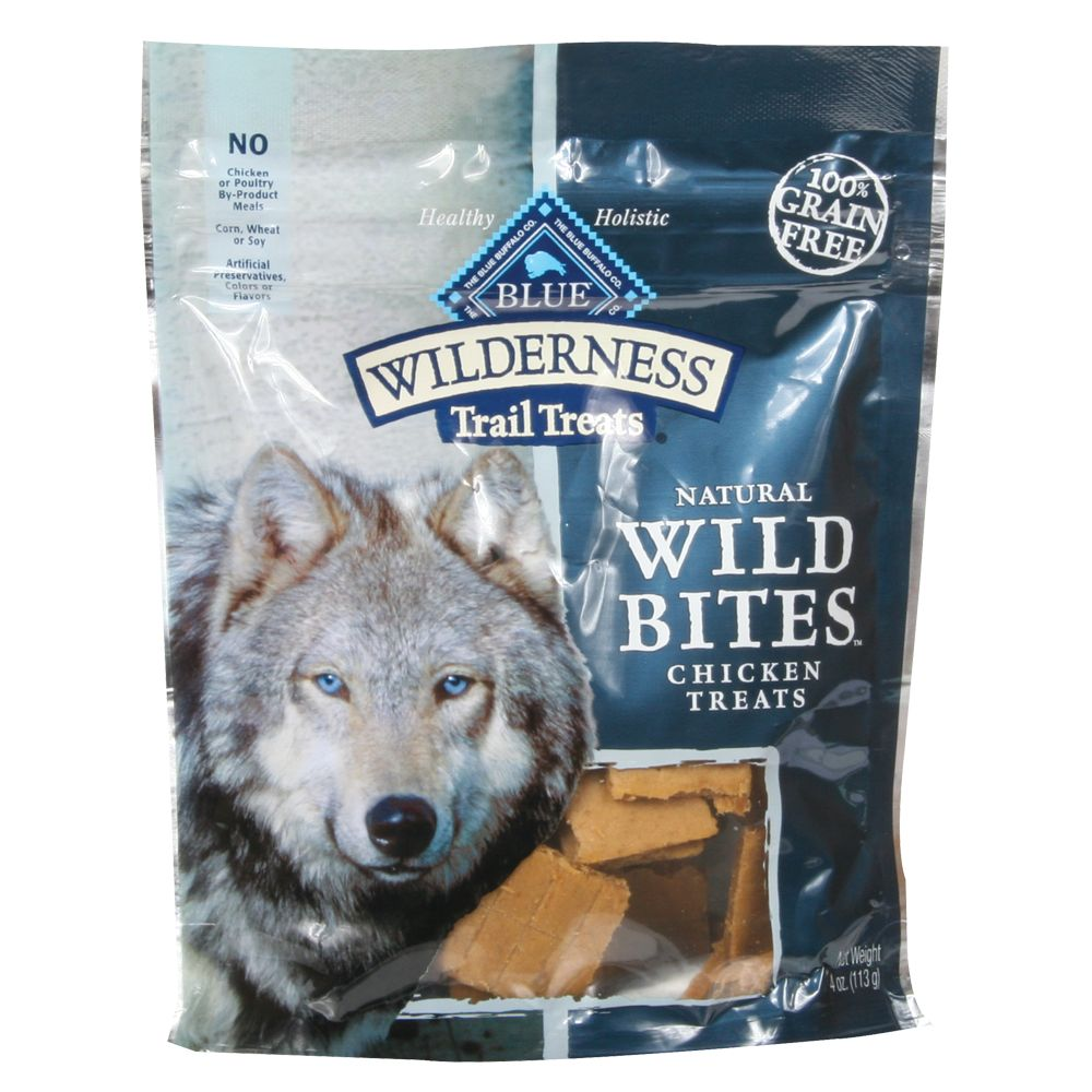 Blue Wilderness® Trail Treats Grain Free Wild Bites Dog