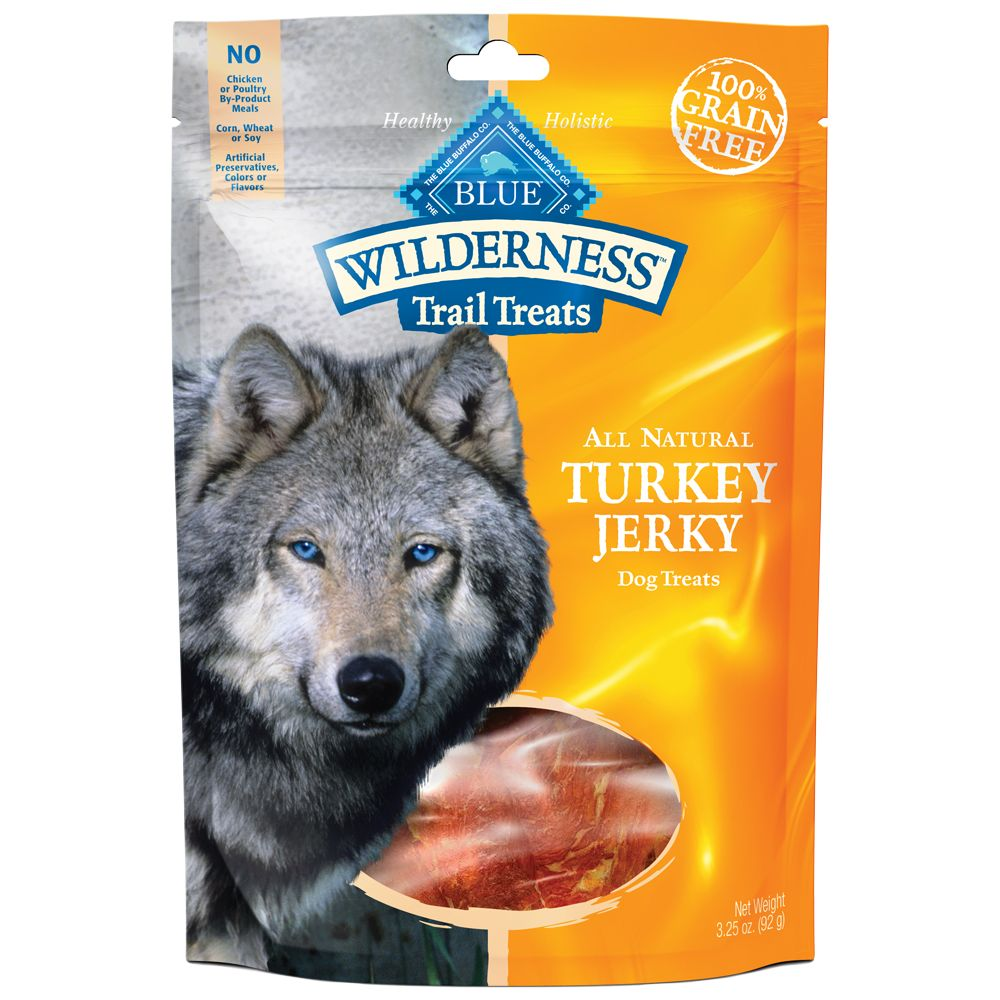 Blue Wilderness Trail Treats Grain Free Jerky Dog Treat Size 3.25 Oz Blue Buffalo