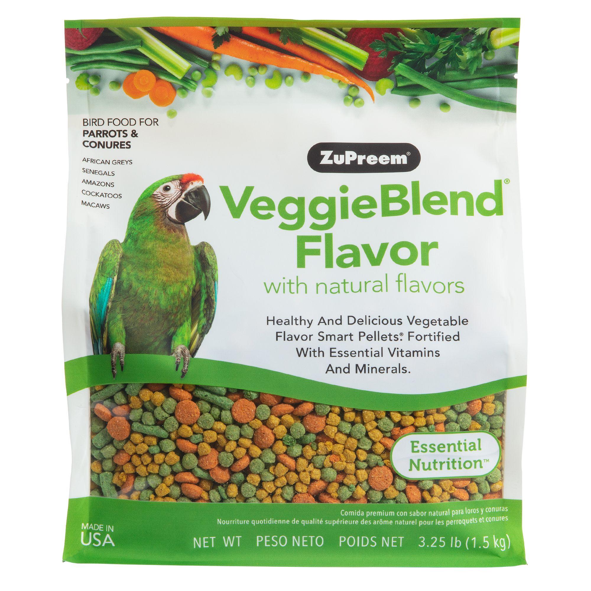 ZuPreem VeggieBlend Bird Food size: 3.25 Lb 5167131