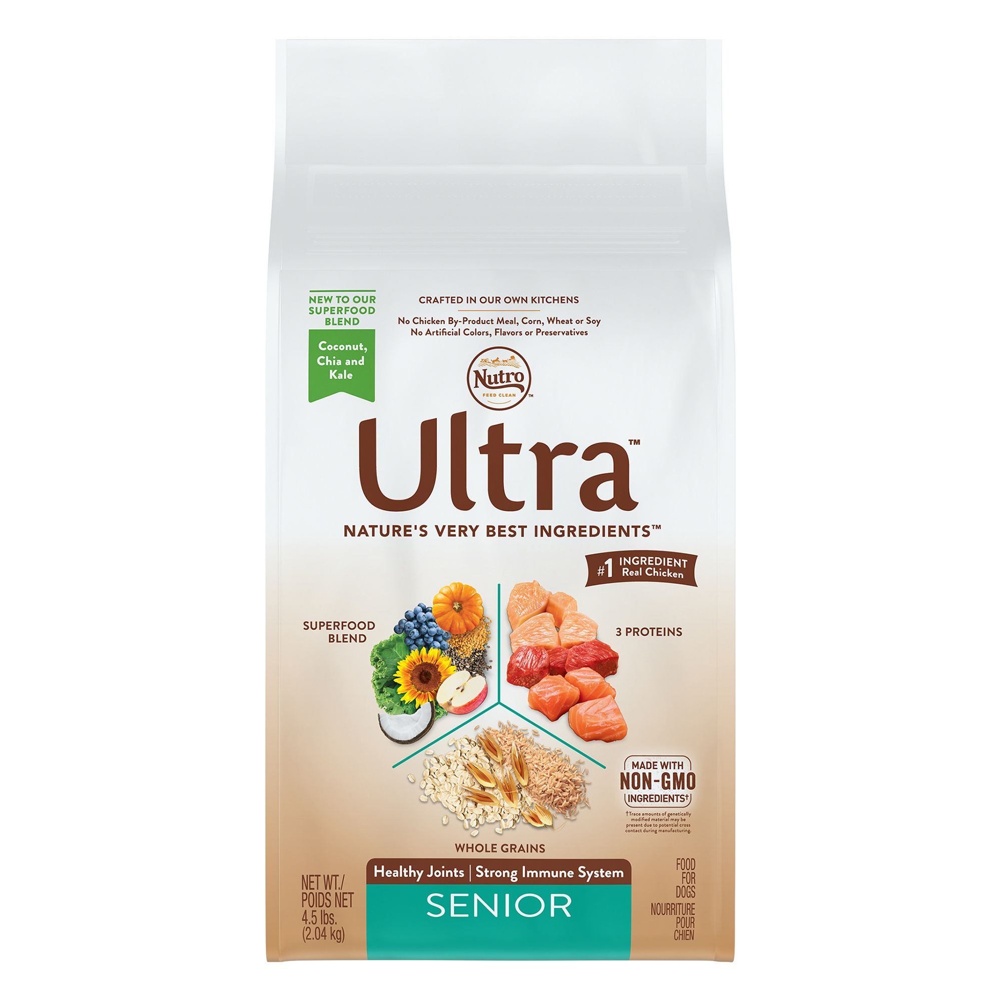 Nutro® Ultra, Senior Dog Food size: 4.5 Lb