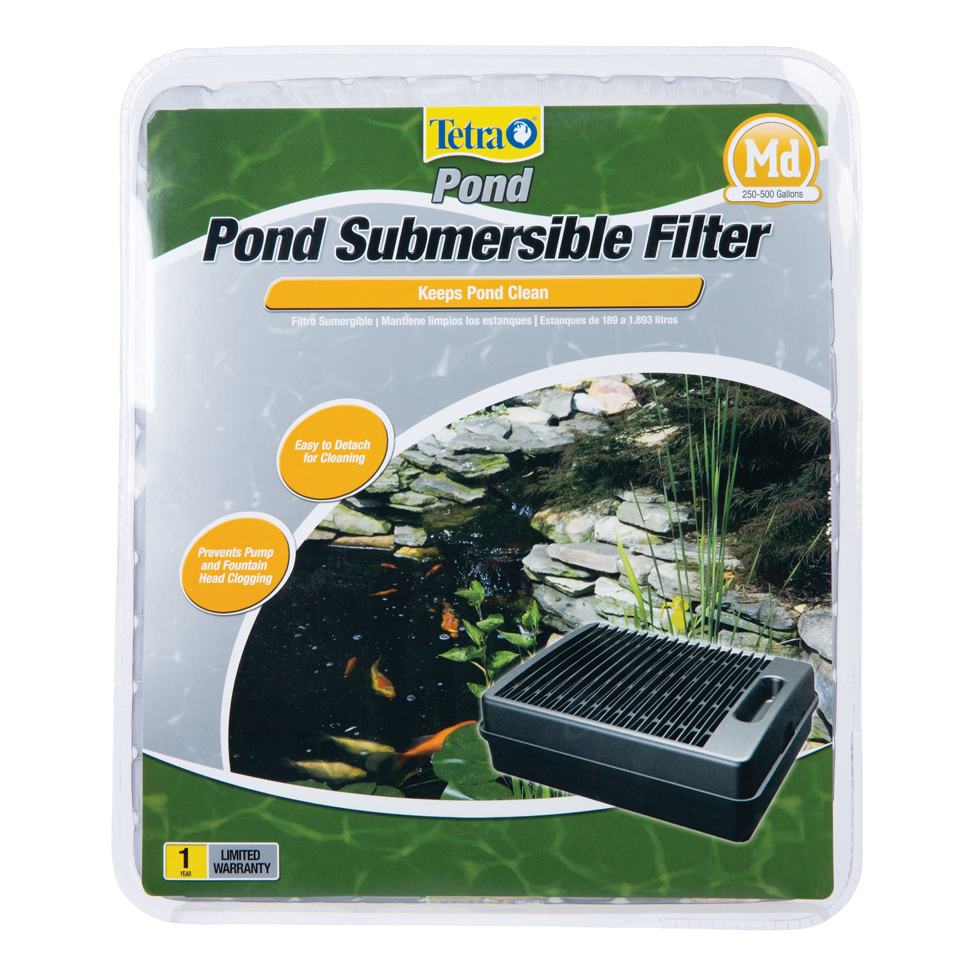 Tetra Pond Submersible Flat Box Filter 5169378